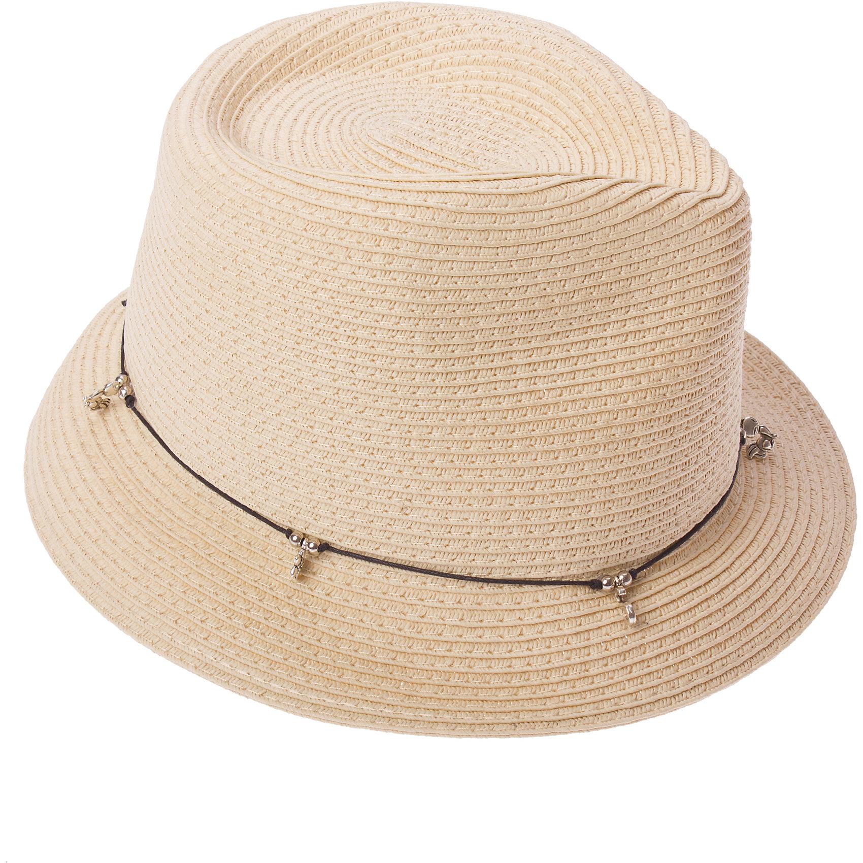 Панама для девочки S'CoolПанама для девочки S'Cool <br><br>Состав: 100% бумажная соломка <br>Классическая соломенная шляпа со стильными подвесками.<br><br>Ширина мм: 89<br>Глубина мм: 117<br>Высота мм: 44<br>Вес г: 155<br>Цвет: бежевый<br>Возраст от месяцев: 144<br>Возраст до месяцев: 168<br>Пол: Женский<br>Возраст: Детский<br>Размер: 56,54<br>SKU: 4502616