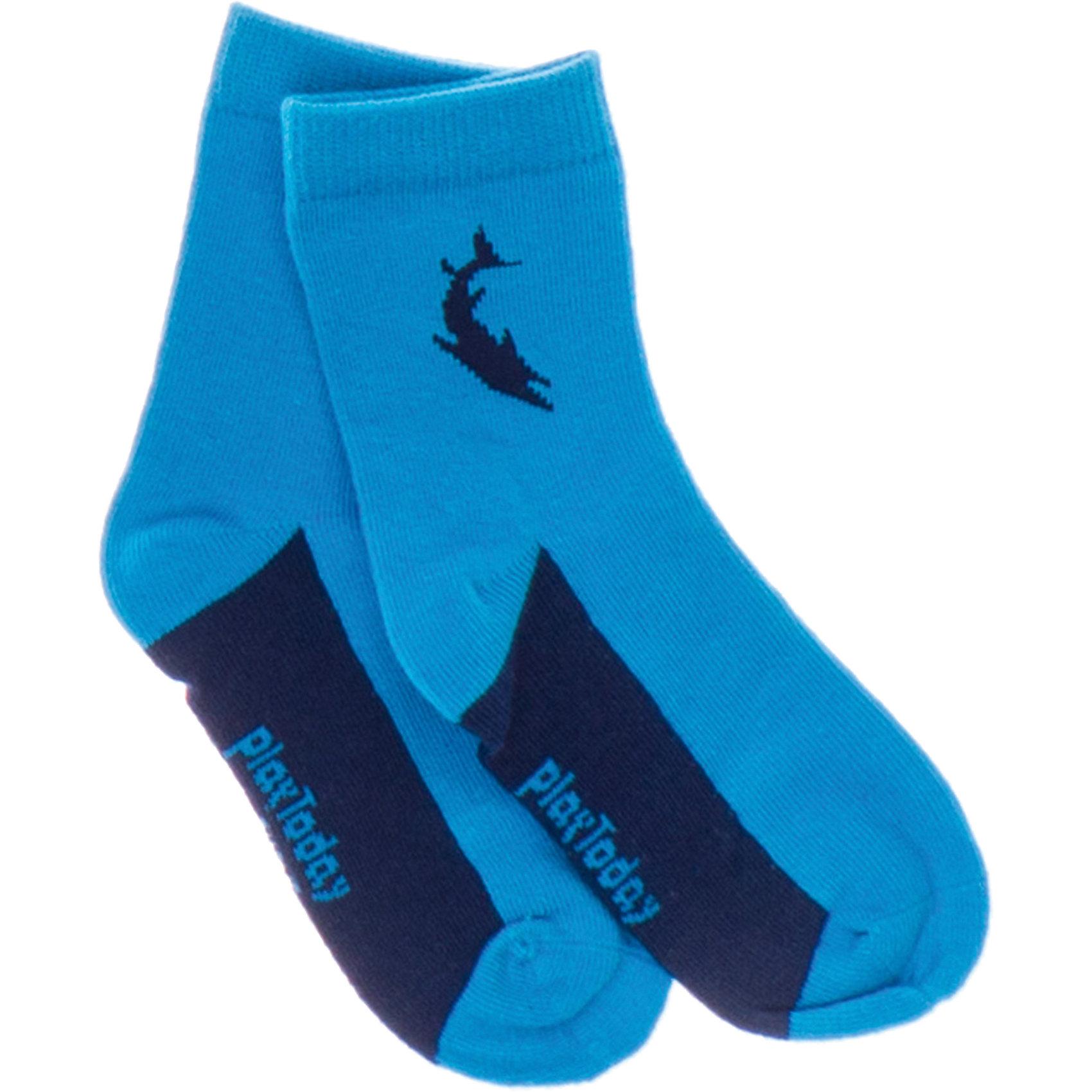 Носки для мальчика PlayTodayНоски для мальчика PlayToday <br><br>Состав: 75% хлопок, 22% нейлон, 3% эластан <br><br>Яркие хлопковые носки. <br>Легкие и удобные.<br><br>Ширина мм: 87<br>Глубина мм: 10<br>Высота мм: 105<br>Вес г: 115<br>Цвет: синий<br>Возраст от месяцев: 60<br>Возраст до месяцев: 84<br>Пол: Мужской<br>Возраст: Детский<br>Размер: 98/104,110/116,122/128<br>SKU: 4502692