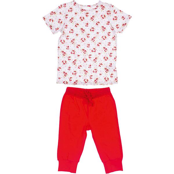 Комплект: футболка и бриджи для девочки PlayTodayКомплекты<br>Комплект: футболка и бриджи для девочки PlayToday <br><br>Состав: 95% хлопок, 5% эластан <br><br>Комплект: футболка и бриджи. <br>Ткань из органического хлопка с добавлением 5% эластана.<br><br>Ширина мм: 199<br>Глубина мм: 10<br>Высота мм: 161<br>Вес г: 151<br>Цвет: белый<br>Возраст от месяцев: 60<br>Возраст до месяцев: 72<br>Пол: Женский<br>Возраст: Детский<br>Размер: 110,116,128,122,104,98<br>SKU: 4502704