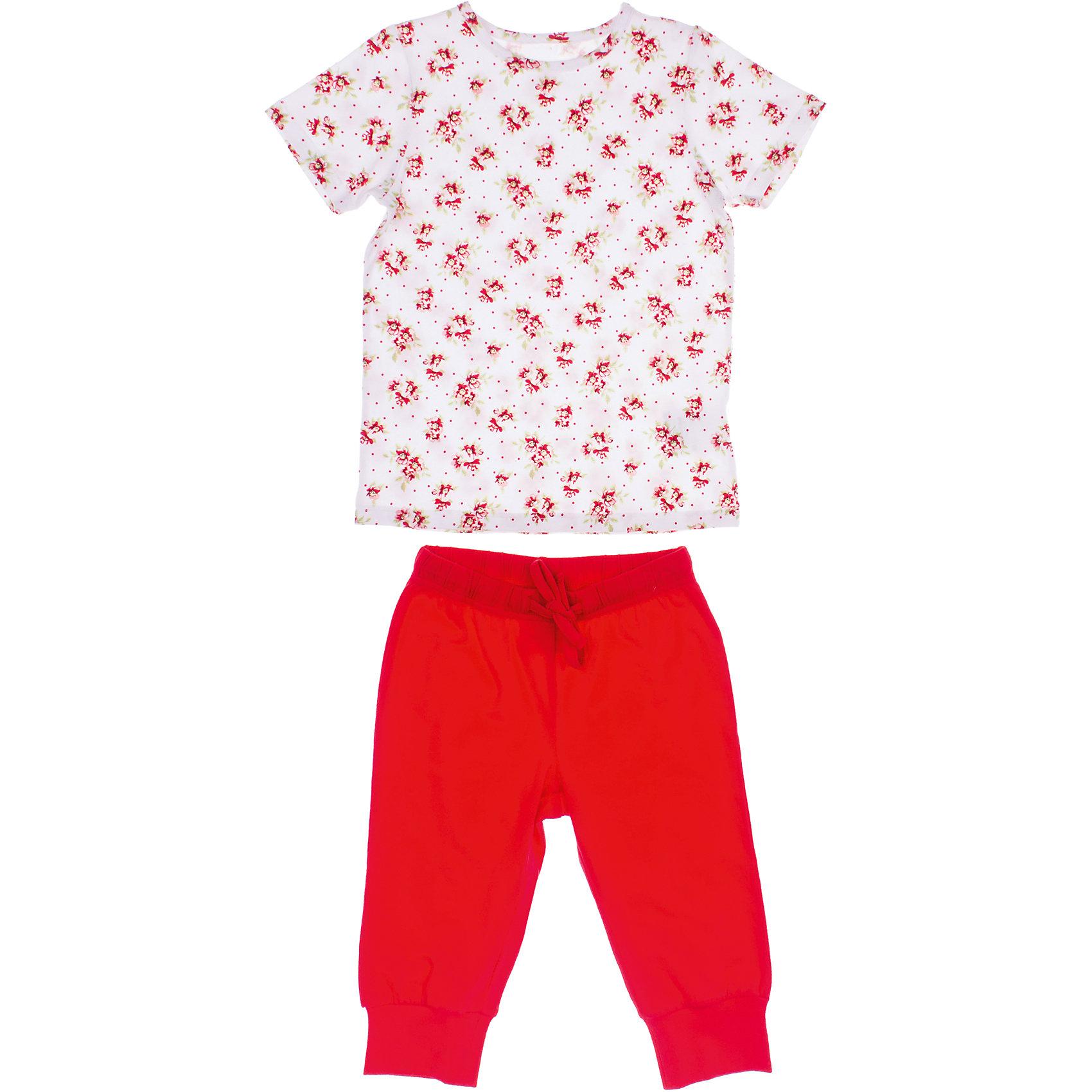 Комплект: футболка и бриджи для девочки PlayTodayКомплекты<br>Комплект: футболка и бриджи для девочки PlayToday <br><br>Состав: 95% хлопок, 5% эластан <br><br>Комплект: футболка и бриджи. <br>Ткань из органического хлопка с добавлением 5% эластана.<br><br>Ширина мм: 199<br>Глубина мм: 10<br>Высота мм: 161<br>Вес г: 151<br>Цвет: белый<br>Возраст от месяцев: 60<br>Возраст до месяцев: 72<br>Пол: Женский<br>Возраст: Детский<br>Размер: 110,116,98,104,122,128<br>SKU: 4502704