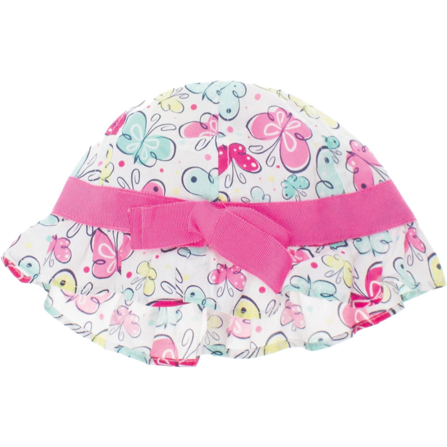 Панама для девочки PlayTodayШапочки<br>Панама для девочки PlayToday <br><br>Состав: 100% хлопок <br><br>Розовая окантовка.<br>Набивная ткань с бабочками.<br><br>Ширина мм: 89<br>Глубина мм: 117<br>Высота мм: 44<br>Вес г: 155<br>Цвет: разноцветный<br>Возраст от месяцев: 12<br>Возраст до месяцев: 18<br>Пол: Женский<br>Возраст: Детский<br>Размер: 46,48<br>SKU: 4503264