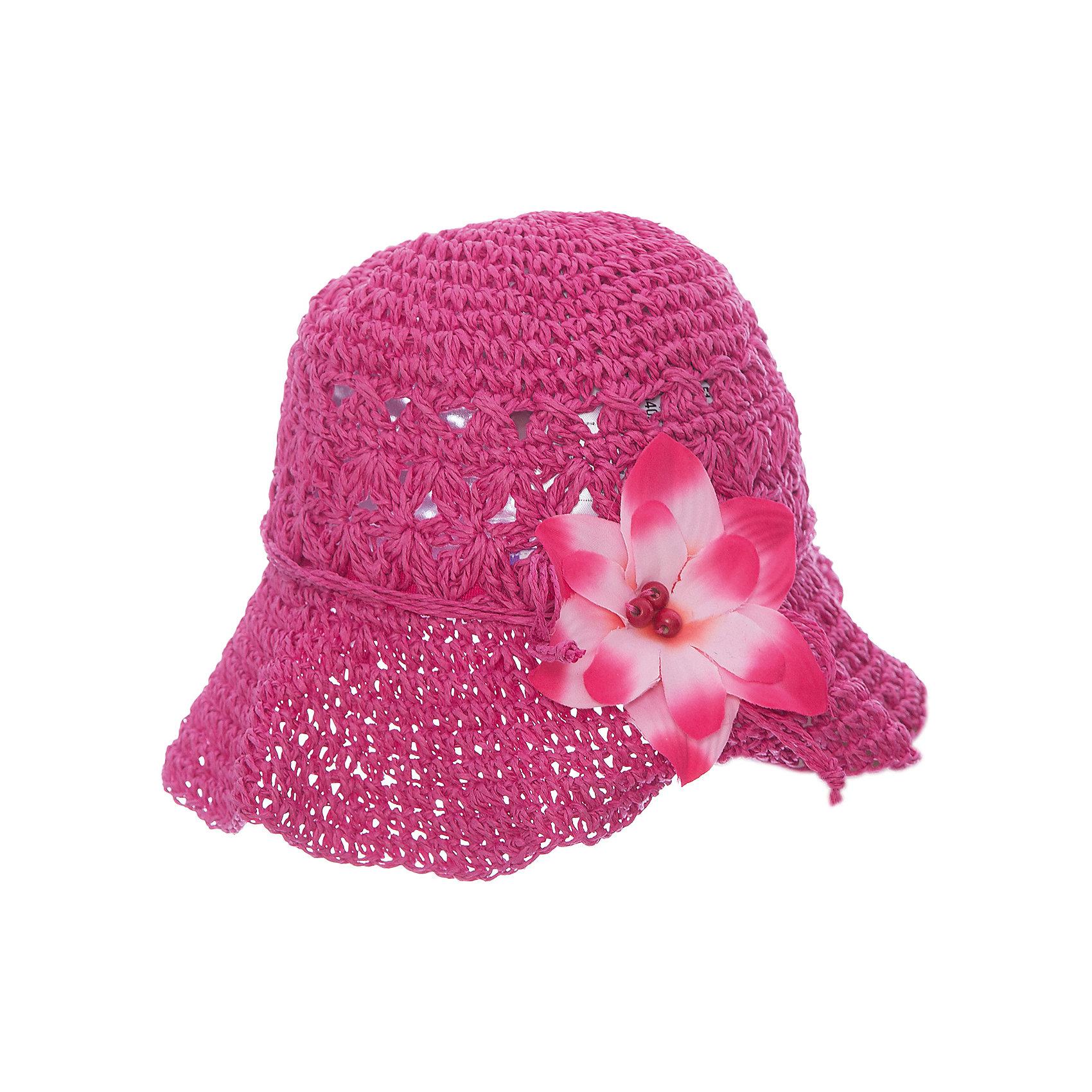 Панама для девочки PlayTodayГоловные уборы<br>Панама для девочки PlayToday <br><br>Состав: 100% целлюлоза <br><br>Элегантная шляпа-панама из искусственной соломы <br>Широкие поля <br>Устойчива к деформации, что позволяет сложить ее и носить в сумке <br>Надежно защитит голову ребенка от перегревания, а глаза от попадания прямого солнечного света <br>Расцветка – фуксия <br>Декорирована искусственным цветком<br><br>Ширина мм: 89<br>Глубина мм: 117<br>Высота мм: 44<br>Вес г: 155<br>Цвет: разноцветный<br>Возраст от месяцев: 60<br>Возраст до месяцев: 84<br>Пол: Женский<br>Возраст: Детский<br>Размер: 52,54,50<br>SKU: 4503401