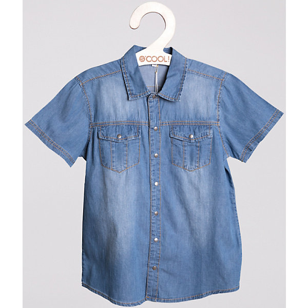 Рубашка джинсовая для мальчика S'CoolДжинсовая одежда<br>Сорочка для мальчика S'Cool <br><br>Состав: 100% хлопок <br><br>Легкая джинсовая сорочка светло-голубого цвета. <br>Металлические пуговицы. <br>Два кармана на полочке. <br>Модная нашивка.<br><br>Ширина мм: 174<br>Глубина мм: 10<br>Высота мм: 169<br>Вес г: 157<br>Цвет: белый<br>Возраст от месяцев: 132<br>Возраст до месяцев: 144<br>Пол: Мужской<br>Возраст: Детский<br>Размер: 146,134,164,158,152,140<br>SKU: 4503405