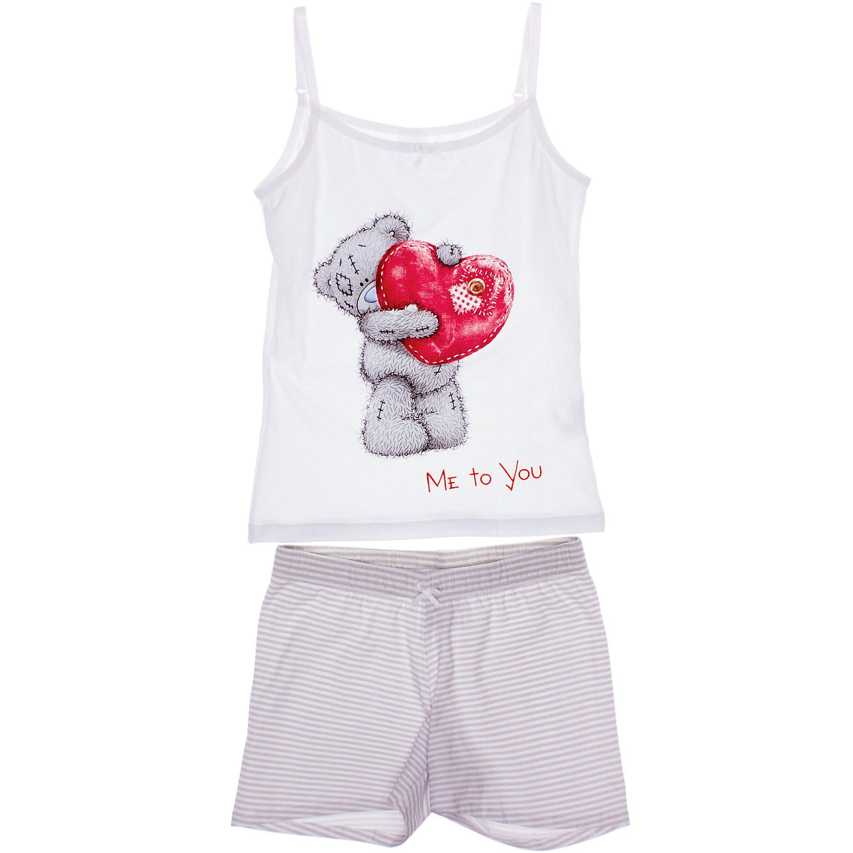 S'cool Комплект: майка и шорты для девочки S'Cool комплект топ майка и шорты relax mode комплект топ майка и шорты