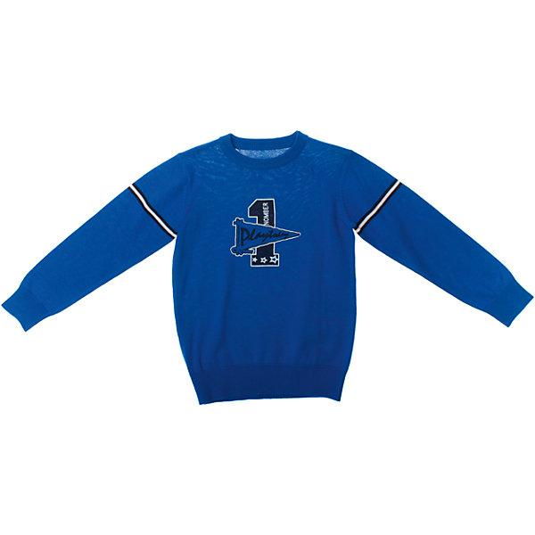 Джемпер для мальчика PlayTodayСвитера и кардиганы<br>Джемпер для мальчика PlayToday <br><br>Состав: 60% хлопок, 40% акрил <br><br>Рукава, воротник и низ на широкой трикотажной резинке<br>Спереди резиновый принт<br>Ярко-синий цвет<br><br>Ширина мм: 190<br>Глубина мм: 74<br>Высота мм: 229<br>Вес г: 236<br>Цвет: синий<br>Возраст от месяцев: 60<br>Возраст до месяцев: 72<br>Пол: Мужской<br>Возраст: Детский<br>Размер: 110,122,128,116,98,104<br>SKU: 4503909