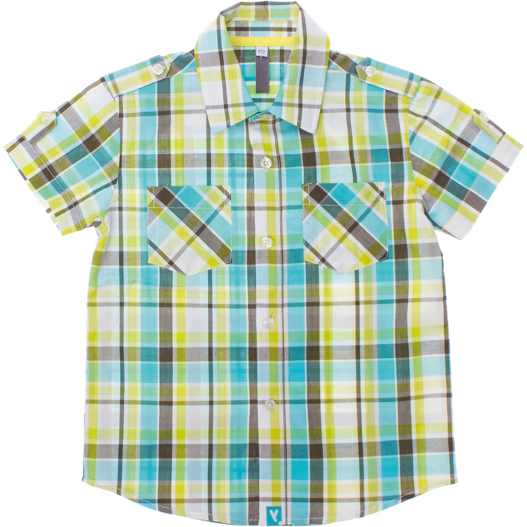 PlayToday Рубашка для мальчика PlayToday кеды playtoday