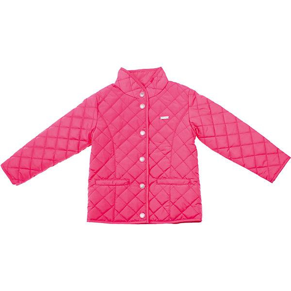 Куртка для девочки PlayTodayВерхняя одежда<br>Куртка для девочки PlayToday <br><br>Состав: <br>Верх: 100% полиэстер<br>Подкладка: 65% полиэстер, 35% хлопок<br><br>Наполнитель: 100% полиэстер легкая стеганая куртка<br>Яркий малиновый цвет<br>Застегивается на кнопки с сердечками<br>Два кармашка<br>Высокий воротник-стойка<br>Мягкая трикотажная подкладка<br><br>Ширина мм: 356<br>Глубина мм: 10<br>Высота мм: 245<br>Вес г: 519<br>Цвет: розовый<br>Возраст от месяцев: 72<br>Возраст до месяцев: 84<br>Пол: Женский<br>Возраст: Детский<br>Размер: 116,128,110,98,104,122<br>SKU: 4504430
