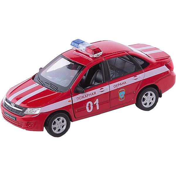 Модель машины 1:34-39 LADA Granta Пожарная охрана, WellyМашинки<br>Модель машины 1:34-39 LADA Granta Пожарная охрана, Welly (Велли) - коллекционная машинка послужит отличным подарком и детям, и взрослым.<br>Модель машины LADA Granta от Welly (Велли) представляет собой точную копию настоящего автомобиля в масштабе 1:34-39. У машинки вращаются колёса, кузов детализирован на достойном уровне и окрашен в цвета Пожарной охраны.<br><br>Дополнительная информация:<br><br>- Масштаб модели 1:34-39<br>- Материал: пластик, металл<br>- Размер упаковки: 14,5х11,5х6 см.<br>- Вес: 169 гр.<br><br>Модель машины 1:34-39 LADA Granta Пожарная охрана, Welly (Велли) можно купить в нашем интернет-магазине.<br>Ширина мм: 145; Глубина мм: 115; Высота мм: 60; Вес г: 169; Возраст от месяцев: 36; Возраст до месяцев: 192; Пол: Мужской; Возраст: Детский; SKU: 4505039;
