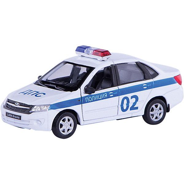 Модель машины 1:34-39 LADA Granta Полиция, WellyМашинки<br>Модель машины 1:34-39 LADA Granta Полиция, Welly (Велли) - коллекционная машинка послужит отличным подарком и детям, и взрослым.<br>Модель машины LADA Granta от Welly (Велли) представляет собой точную копию настоящего автомобиля в масштабе 1:34-39. У машинки вращаются колёса, кузов детализирован на достойном уровне и окрашен в цвета Полиции РФ.<br><br>Дополнительная информация:<br><br>- Масштаб модели 1:34-39<br>- Материал: пластик, металл<br>- Размер упаковки: 15х11,5х6 см.<br>- Вес: 170 гр.<br><br>Модель машины 1:34-39 LADA Granta Полиция, Welly (Велли) можно купить в нашем интернет-магазине.<br>Ширина мм: 150; Глубина мм: 115; Высота мм: 60; Вес г: 170; Возраст от месяцев: 36; Возраст до месяцев: 192; Пол: Мужской; Возраст: Детский; SKU: 4505040;
