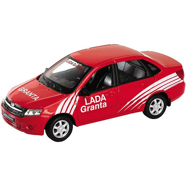 Модель машины 1:34-39 LADA Granta Ралли, WellyМашинки<br>Модель машины 1:34-39 LADA Granta Ралли, Welly (Велли) - коллекционная машинка станет отличным подарком для автолюбителей всех возрастов.<br>Модель машины LADA Granta от Welly (Велли) представляет собой точную копию настоящего автомобиля в масштабе 1:34-39. У машинки вращаются колёса, кузов детализирован на достойном уровне. Эта модель Лада Гранта была подготовлена для участия в ралли. На капоте и бортах нанесены рекламные наклейки.<br><br>Дополнительная информация:<br><br>- Масштаб модели 1:34-39<br>- Материал: пластик, металл<br>- Размер упаковки: 15х11,5х6 см.<br>- Вес: 168 гр.<br><br>Модель машины 1:34-39 LADA Granta Ралли, Welly (Велли) можно купить в нашем интернет-магазине.<br><br>Ширина мм: 150<br>Глубина мм: 115<br>Высота мм: 60<br>Вес г: 168<br>Возраст от месяцев: 36<br>Возраст до месяцев: 192<br>Пол: Мужской<br>Возраст: Детский<br>SKU: 4505041