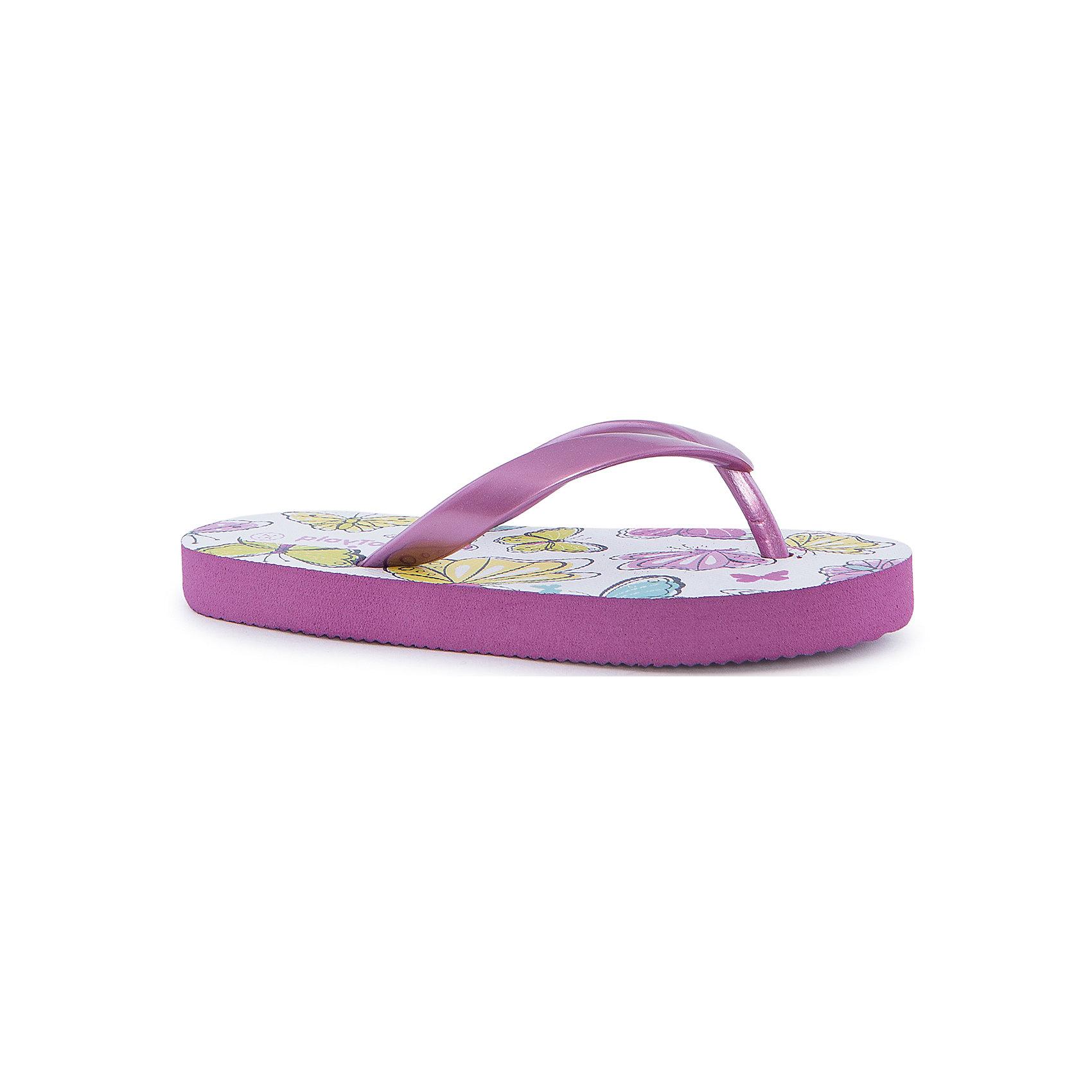 Шлепанцы для девочки PlayTodayПляжная обувь<br>Пантолеты для девочки PlayToday <br><br>Состав: 100% поливинилхлорид <br><br>Украшены бабочками<br>Резинка сверху перламутрово-розовая<br>Подошва мягкая, с рифлением<br><br>Ширина мм: 225<br>Глубина мм: 139<br>Высота мм: 112<br>Вес г: 290<br>Цвет: лиловый<br>Возраст от месяцев: 24<br>Возраст до месяцев: 36<br>Пол: Женский<br>Возраст: Детский<br>Размер: 26,25,28,31,30,29,27<br>SKU: 4507915