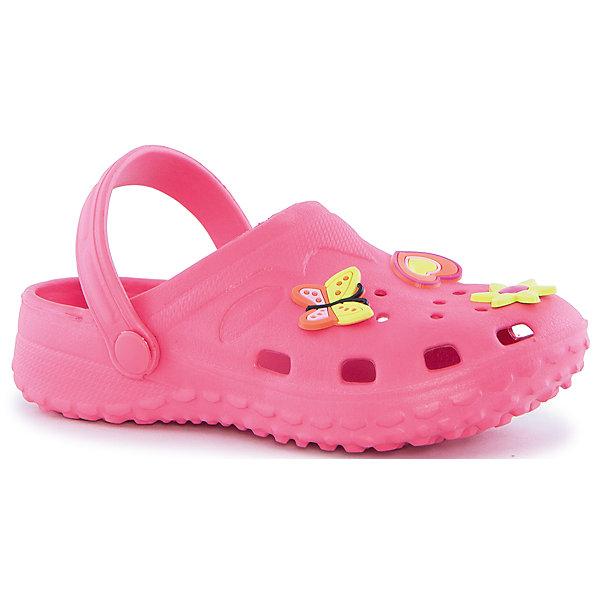 Сабо для девочки PlayTodayПляжная обувь<br>Пантолеты для девочки PlayToday <br><br>Легкие непромокаемые пантолеты персикового цвета. Подошва с рифлением не скользит. Верх с перфорацией легко пропускает воздух.<br><br>Состав: 100% этилвинилацетат<br><br>Ширина мм: 225<br>Глубина мм: 139<br>Высота мм: 112<br>Вес г: 290<br>Цвет: коралловый<br>Возраст от месяцев: 24<br>Возраст до месяцев: 24<br>Пол: Женский<br>Возраст: Детский<br>Размер: 25,23,26,22,24,27,28<br>SKU: 4507965