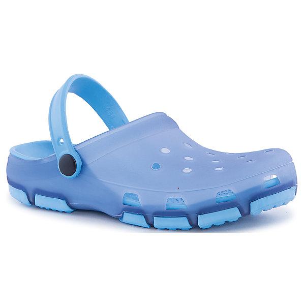 Сабо для мальчика PlayTodayПляжная обувь<br>Пантолеты для девочки PlayToday <br><br>Состав: 100% этилвинилацетат <br><br>Верх - полупрозрачный<br>С перфорацией<br>Подошва с рифлением, не скользит<br>Очень легкие<br>Ширина мм: 225; Глубина мм: 139; Высота мм: 112; Вес г: 290; Цвет: лиловый; Возраст от месяцев: 21; Возраст до месяцев: 24; Пол: Мужской; Возраст: Детский; Размер: 24,26,29,28,27,25; SKU: 4507981;