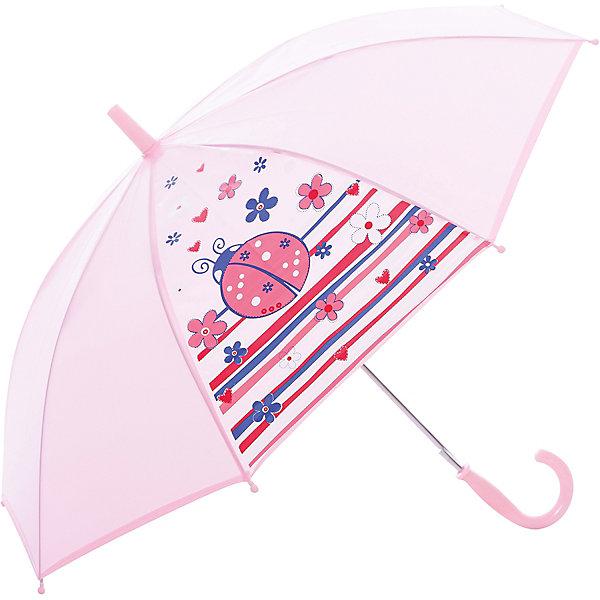Зонт PlayTodayЗонты детские<br>Милый зонтик для малышки. <br><br>Каркас: 100% сталь <br>Купол: 100% полиэстер<br>Ручка:100% АБС пластик<br>Ширина мм: 170; Глубина мм: 157; Высота мм: 67; Вес г: 117; Возраст от месяцев: 36; Возраст до месяцев: 2147483647; Пол: Женский; Возраст: Детский; SKU: 4508627;