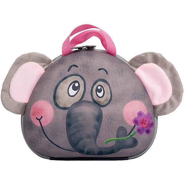 Сумка-зверушка  СлоненокДетские сумки<br>Сумочка в виде очаровательного слоненка обязательно понравится детям. Она имеет регулируемую плечевую лямку и прочная застежку-молнию с двумя крупными бегунками, удобными для детских ручек. Сумочка-зверушка - непромокаемая и прочная, легко моется и быстро сохнет, прекрасно сохраняя форму и цвет. В производстве изделия использовались только экологичные материалы безопасные даже для малышей. <br><br>Дополнительная информация:<br><br>- Материал: текстиль, пластик, металл.<br>- Размер: 12 х 25 х 22 см.<br>- Регулируемая плечевая лямка.<br>- Количество отделений: 1.<br>- Тип застежки: молния. <br><br>Сумку-зверушку Слоненок можно купить в нашем магазине.<br><br>Ширина мм: 250<br>Глубина мм: 120<br>Высота мм: 220<br>Вес г: 200<br>Возраст от месяцев: 36<br>Возраст до месяцев: 84<br>Пол: Унисекс<br>Возраст: Детский<br>SKU: 4508721