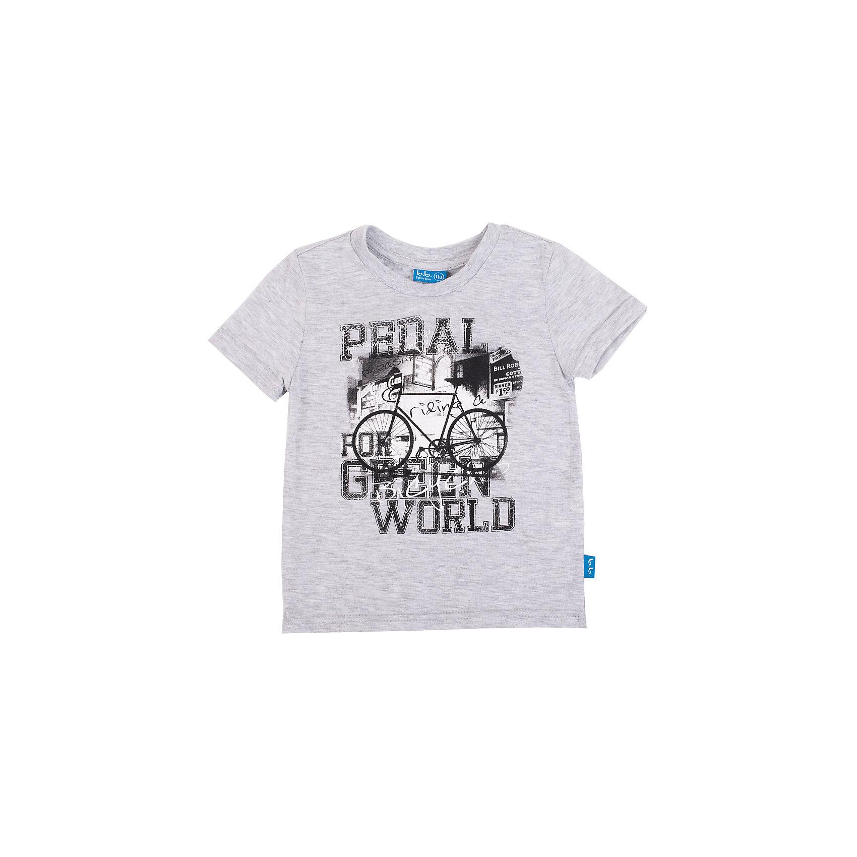 Футболка для мальчика Button BlueСерая меланжевая футболка с надписями и рисунками - не просто базовая вещь в гардеробе ребенка, а залог хорошего летнего настроения! Отличное качество и доступная цена прилагаются. Если вы решили купить недорого модную практичную футболку для мальчика, выберете модель футболки с принтом, и ваш ребенок будет доволен!<br>Состав:<br>100% хлопок<br><br>Ширина мм: 199<br>Глубина мм: 10<br>Высота мм: 161<br>Вес г: 151<br>Цвет: серый<br>Возраст от месяцев: 144<br>Возраст до месяцев: 156<br>Пол: Мужской<br>Возраст: Детский<br>Размер: 158,146,140,104,128,152,98,134,116,122,110<br>SKU: 4509922
