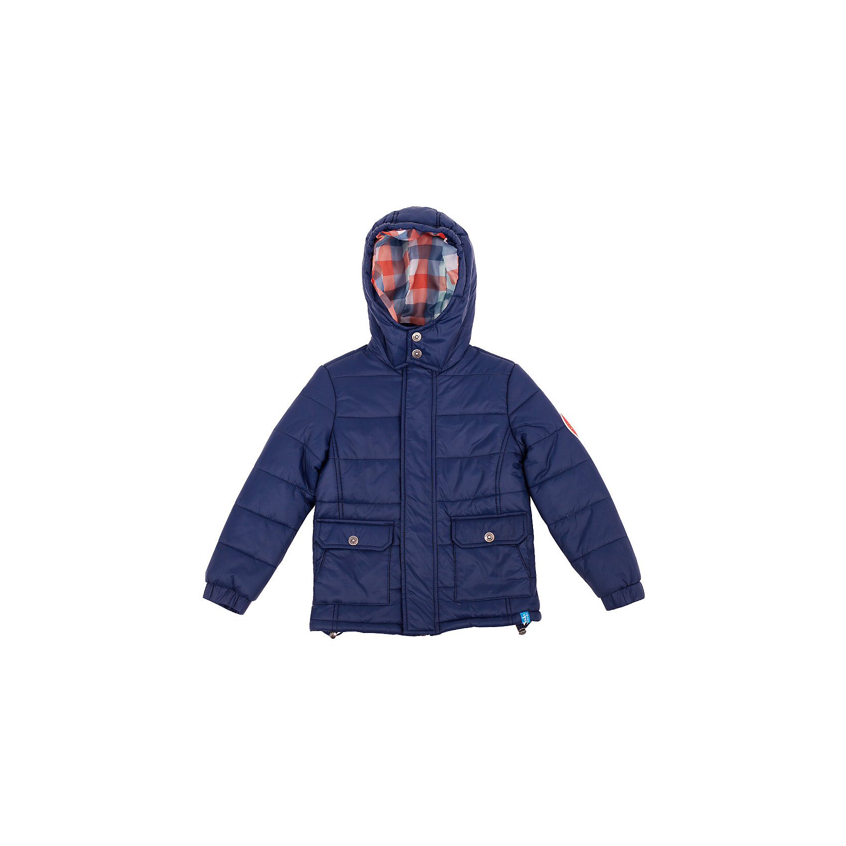 Куртка для мальчика Button BlueСиняя стеганая куртка - оптимальное решение для весенней прохлады. Практичный цвет, функциональные детали, отделка делают куртку отличным вариантом на каждый день. Если вы хотите купить хорошую утепленную куртку для мальчика недорого, не сомневаясь в ее комфорте, качестве, высоких потребительских свойствах, куртка Button Blue - для вас!<br>Состав:<br>тк. Верха 100%нейлон  подк:100%полиэстер утеплитель: 100% полиэстер<br><br>Ширина мм: 356<br>Глубина мм: 10<br>Высота мм: 245<br>Вес г: 519<br>Цвет: синий<br>Возраст от месяцев: 120<br>Возраст до месяцев: 132<br>Пол: Мужской<br>Возраст: Детский<br>Размер: 146,134,110,98,158,122,128,104,140,152,116<br>SKU: 4509946