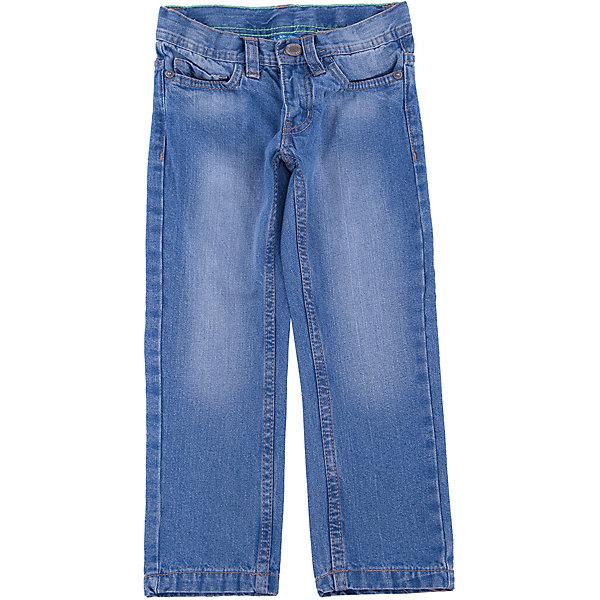 Джинсы для мальчика Button BlueДжинсовая одежда<br>Классные голубые джинсы с потертостями и варкой — залог хорошего настроения! Модный силуэт, удобная посадка на фигуре подарят мальчику комфорт и свободу движений. Отличное качество и доступная цена прилагаются! Купить детские джинсы Button Blue, значит, купить классные джинсы недорого и быть в тренде!<br>Состав:<br>100% хлопок<br>Ширина мм: 215; Глубина мм: 88; Высота мм: 191; Вес г: 336; Цвет: синий; Возраст от месяцев: 36; Возраст до месяцев: 48; Пол: Мужской; Возраст: Детский; Размер: 104,98,152,146,122,128,116,140,110,158,134; SKU: 4509980;