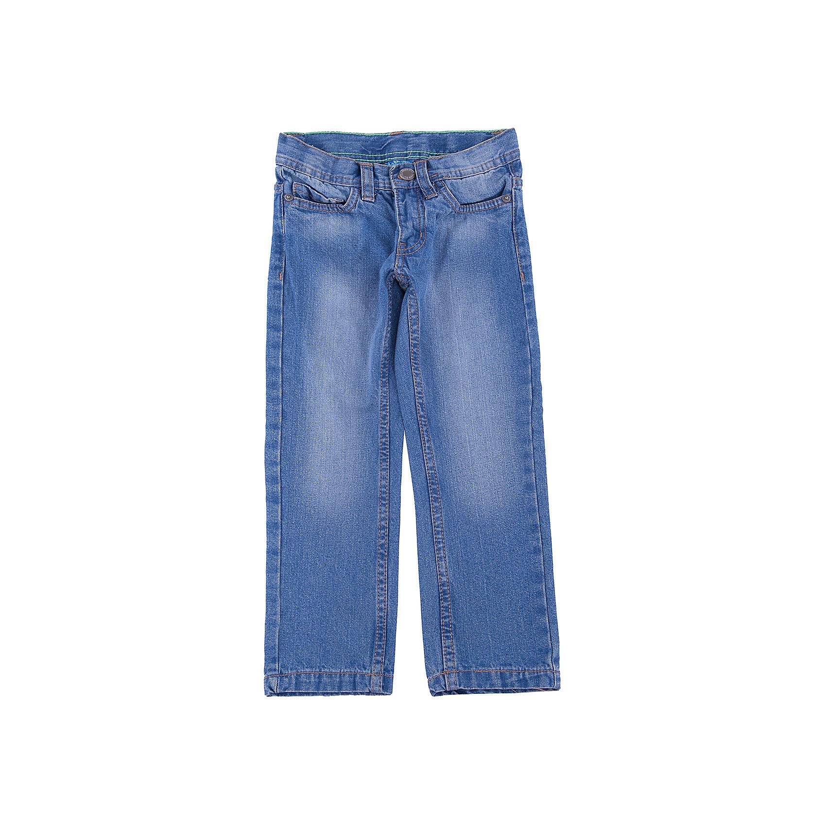 Джинсы для мальчика Button BlueДжинсовая одежда<br>Классные голубые джинсы с потертостями и варкой — залог хорошего настроения! Модный силуэт, удобная посадка на фигуре подарят мальчику комфорт и свободу движений. Отличное качество и доступная цена прилагаются! Купить детские джинсы Button Blue, значит, купить классные джинсы недорого и быть в тренде!<br>Состав:<br>100% хлопок<br><br>Ширина мм: 215<br>Глубина мм: 88<br>Высота мм: 191<br>Вес г: 336<br>Цвет: синий<br>Возраст от месяцев: 24<br>Возраст до месяцев: 36<br>Пол: Мужской<br>Возраст: Детский<br>Размер: 104,116,140,110,158,134,98,152,146,122,128<br>SKU: 4509980