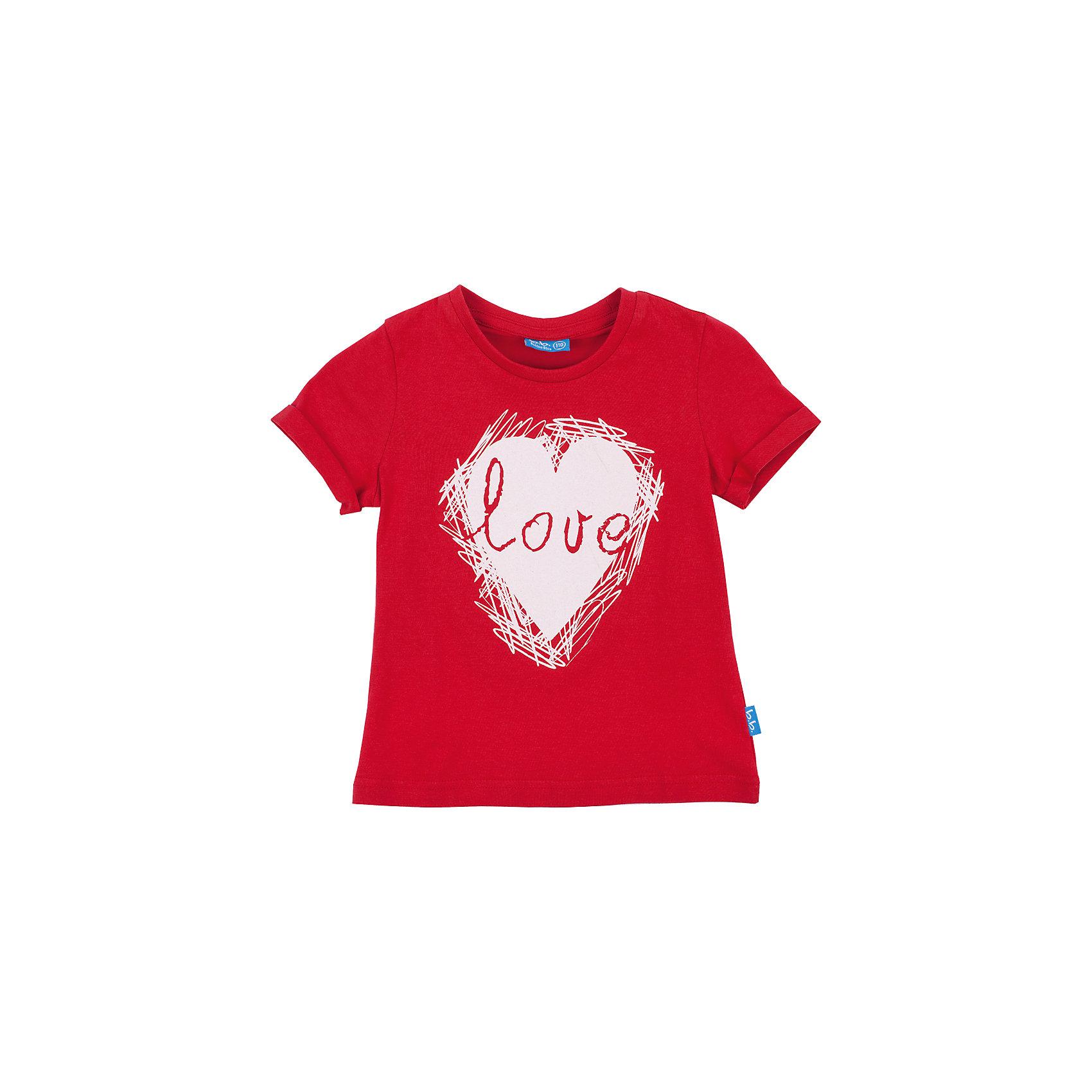 Футболка для девочки Button BlueКрасная футболка с ярким принтом - не просто базовая вещь в гардеробе ребенка, а залог хорошего летнего настроения! Отличное качество и доступная цена прилагаются. Если вы решили купить недорого красную футболку для девочки, выберете модель футболки с оригинальным принтом, и ваш ребенок будет доволен!<br>Состав:<br>100% хлопок<br><br>Ширина мм: 199<br>Глубина мм: 10<br>Высота мм: 161<br>Вес г: 151<br>Цвет: красный<br>Возраст от месяцев: 48<br>Возраст до месяцев: 60<br>Пол: Женский<br>Возраст: Детский<br>Размер: 110,104,128,122,98,116<br>SKU: 4510004