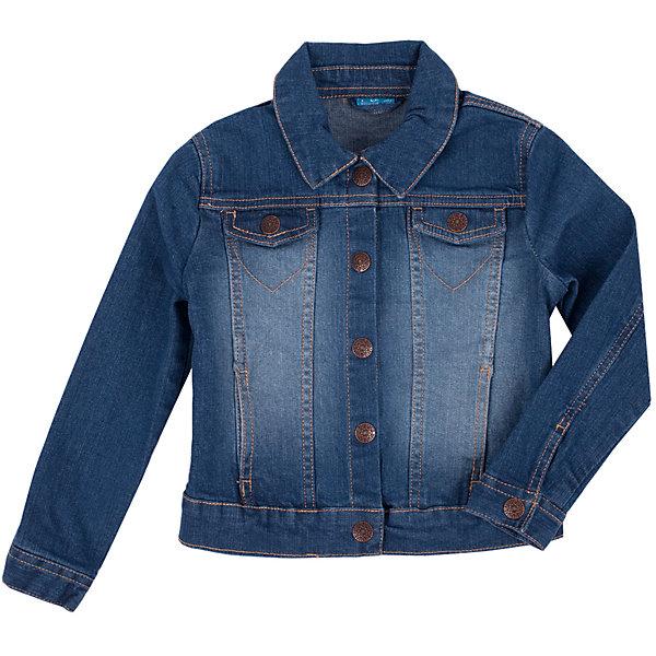 Жакет для девочки Button BlueВерхняя одежда<br>Джинсовая куртка для девочки - базовая вещь весеннего-летнего гардероба! Она отлично сочетается с платьем, сарафаном, брюками, делая комплект интересным и завершенным. Вы хотите, чтобы ваш ребенок был в тренде? Вы предпочитаете купить джинсовую куртку недорого и не сомневаться в ее качестве и комфорте? Тогда джинсовая куртка от Button Blue для вас!<br>Состав:<br>98% хлопок             2% эластан<br><br>Ширина мм: 190<br>Глубина мм: 74<br>Высота мм: 229<br>Вес г: 236<br>Цвет: синий<br>Возраст от месяцев: 72<br>Возраст до месяцев: 84<br>Пол: Женский<br>Возраст: Детский<br>Размер: 122,98,158,116,152,134,110,104,146,128,140<br>SKU: 4510047
