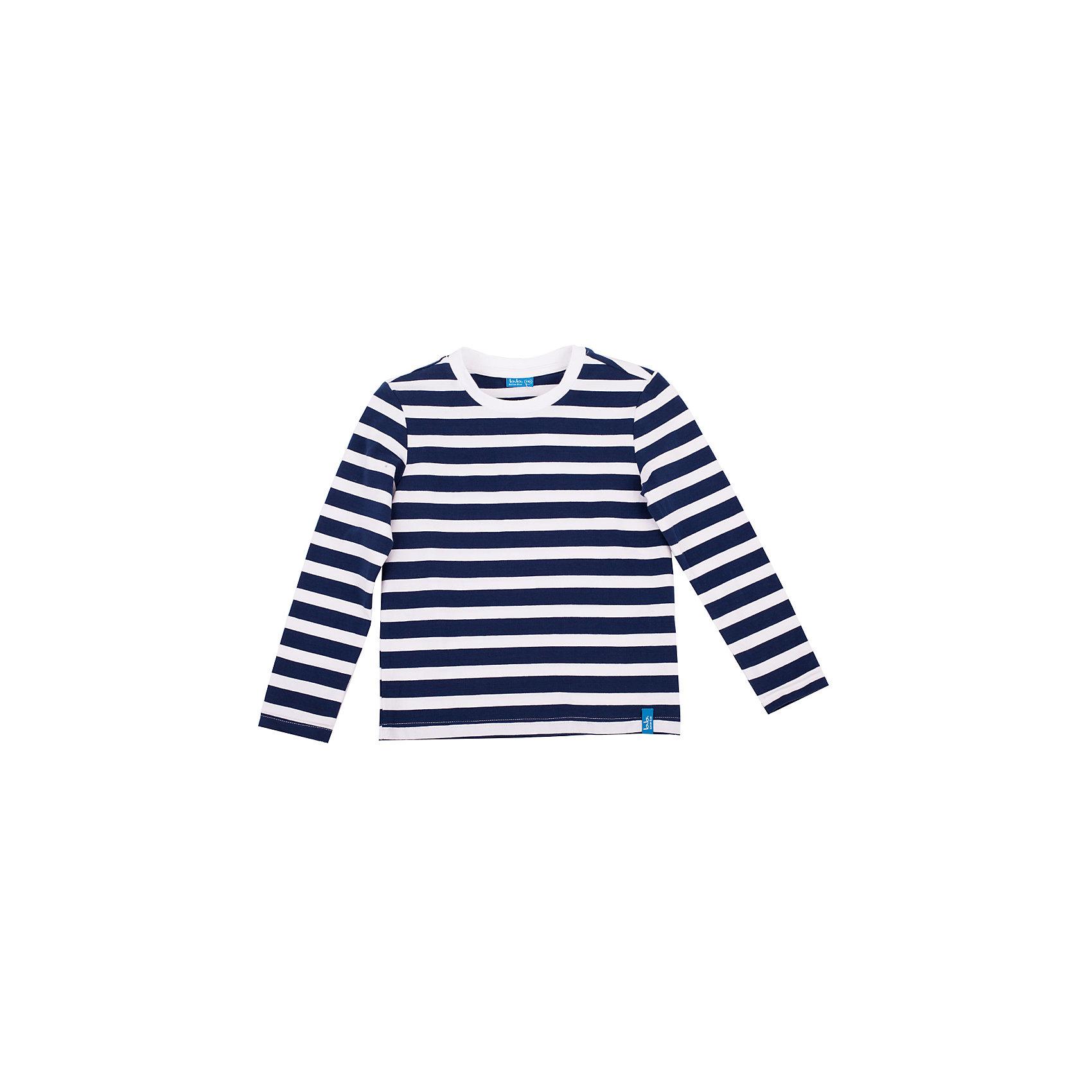 Футболка с длинным рукавом для мальчика Button BlueФутболки с длинным рукавом<br>Яркая футболка - не просто базовая вещь в гардеробе ребенка, а залог хорошего летнего настроения! Отличное качество и доступная цена прилагаются. Если вы решили купить недорогую детскую футболку с длинным рукавом, выберете яркую футболку в полоску, и ваш ребенок будет доволен!<br>Состав:<br>95% хлопок                                             5% эластан<br><br>Ширина мм: 199<br>Глубина мм: 10<br>Высота мм: 161<br>Вес г: 151<br>Цвет: разноцветный<br>Возраст от месяцев: 96<br>Возраст до месяцев: 108<br>Пол: Мужской<br>Возраст: Детский<br>Размер: 134,116,158,98,104,146,128,140,122,110,152<br>SKU: 4510169