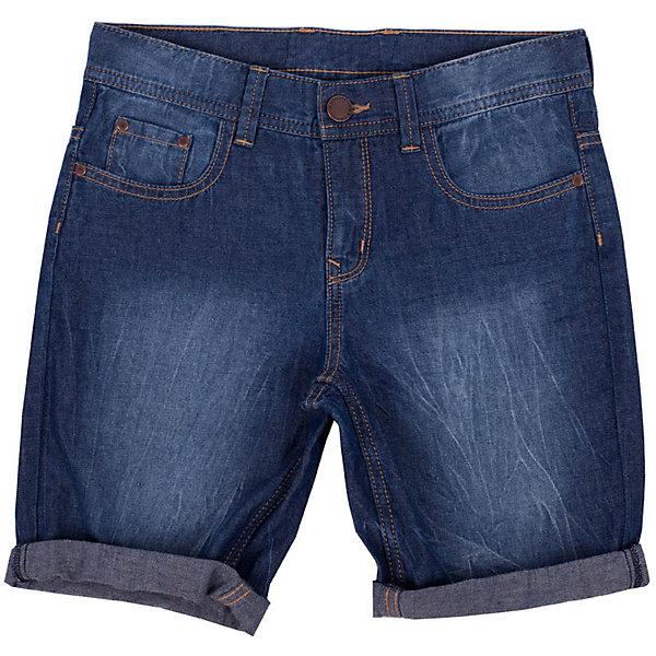 Шорты для мальчика Button BlueШорты, бриджи, капри<br>Классные джинсовые шорты недорого и отличного качества - прекрасное решение на каждый день! И дома, и в лагере, и на спортивной площадке эти шорты для мальчика обеспечат комфорт. Купить недорого детские шорты Button Blue - сделать каждый летний день ребенка радостным и беззаботным!<br>Состав:<br>100%хлопок<br>Ширина мм: 191; Глубина мм: 10; Высота мм: 175; Вес г: 273; Цвет: синий; Возраст от месяцев: 108; Возраст до месяцев: 120; Пол: Мужской; Возраст: Детский; Размер: 140,152,116,122,98,158,128,134,146,104,110; SKU: 4510385;