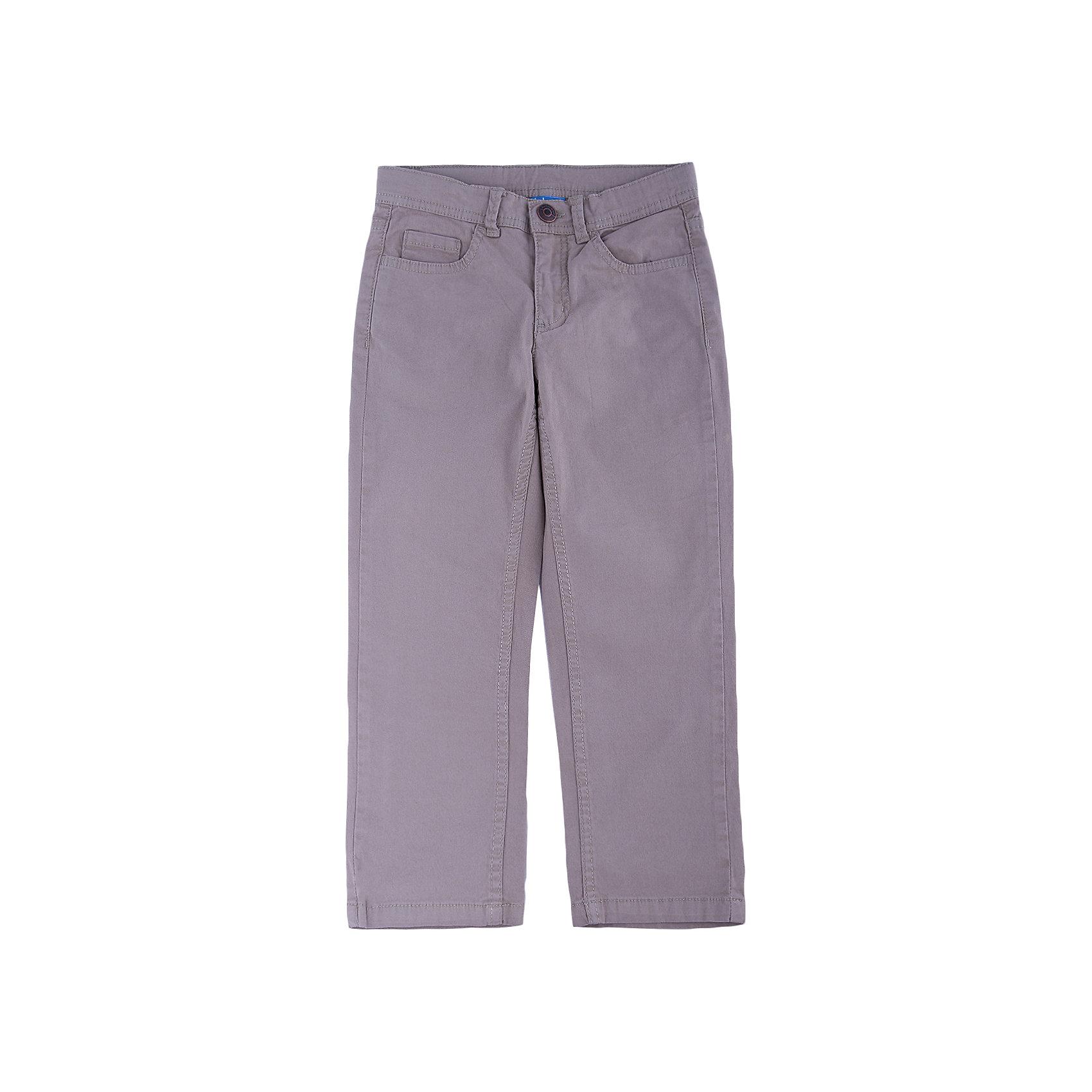 Брюки для мальчика Button BlueБрюки<br>Прекрасный летний вариант на каждый день - бежевые брюки для мальчика! Хотите, чтобы ваш ребенок был в тренде? Предпочитаете купить детские брюки модного силуэта недорого, не сомневаясь в их качестве и комфорте? Тогда отличные брюки от Button Blue - то, что нужно!<br>Состав:<br>98%хлопок, 2%эластан<br><br>Ширина мм: 215<br>Глубина мм: 88<br>Высота мм: 191<br>Вес г: 336<br>Цвет: бежевый<br>Возраст от месяцев: 144<br>Возраст до месяцев: 156<br>Пол: Мужской<br>Возраст: Детский<br>Размер: 104,146,128,140,152,110,98,158,122,134,116<br>SKU: 4510397