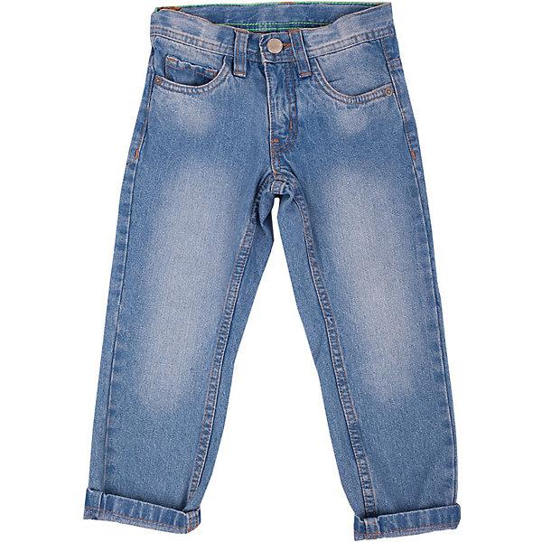 Джинсы для мальчика Button BlueДжинсовая одежда<br>Классные синие джинсы с потертостями и варкой — залог хорошего настроения! Модный силуэт, удобная посадка на фигуре подарят мальчику комфорт и свободу движений. Отличное качество и доступная цена прилагаются! Купить летние детские джинсы Button Blue, значит, купить классные  джинсы недорого и быть в тренде!<br>Состав:<br>100%хлопок<br>Ширина мм: 215; Глубина мм: 88; Высота мм: 191; Вес г: 336; Цвет: синий; Возраст от месяцев: 120; Возраст до месяцев: 132; Пол: Мужской; Возраст: Детский; Размер: 152,110,140,158,146,98,116,122,128,134,104; SKU: 4510409;