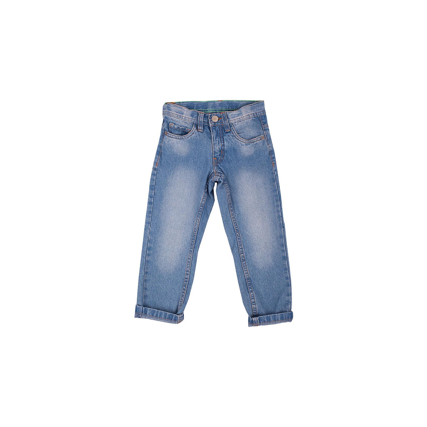 Джинсы для мальчика Button BlueКлассные синие джинсы с потертостями и варкой — залог хорошего настроения! Модный силуэт, удобная посадка на фигуре подарят мальчику комфорт и свободу движений. Отличное качество и доступная цена прилагаются! Купить летние детские джинсы Button Blue, значит, купить классные  джинсы недорого и быть в тренде!<br>Состав:<br>100%хлопок<br><br>Ширина мм: 215<br>Глубина мм: 88<br>Высота мм: 191<br>Вес г: 336<br>Цвет: синий<br>Возраст от месяцев: 24<br>Возраст до месяцев: 36<br>Пол: Мужской<br>Возраст: Детский<br>Размер: 116,134,128,98,146,158,140,110,152,104,122<br>SKU: 4510409