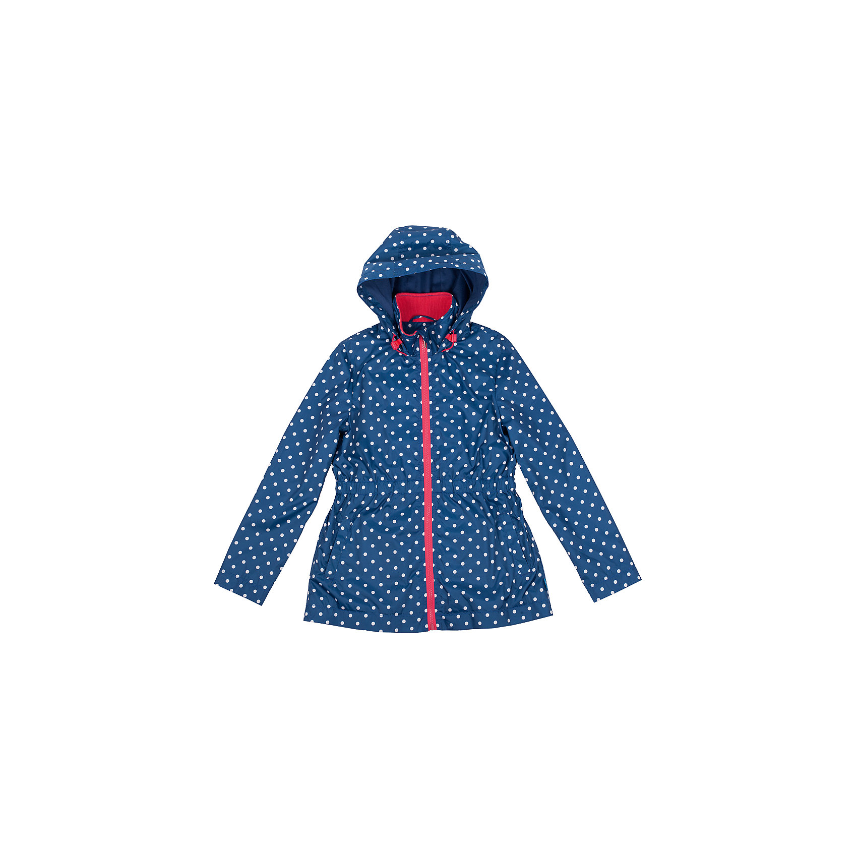 Ветровка для девочки Button BlueВерхняя одежда<br>Яркая ветровка с капюшоном - хорошее решение для летней прохлады. Модный рисунок подарит отличное настроение, мягкая трикотажная подкладка обеспечит уют, капюшон защитит от дождя и ветра. Если вы хотите купить отличную ветровку для девочки недорого и хотите быть уверены в ее комфорте, качестве, высоких потребительских свойствах, ветровка Button Blue - для вас!<br>Состав:<br>тк. верха:      100% полиэстер,        подкл.: 100% хлопок<br><br>Ширина мм: 356<br>Глубина мм: 10<br>Высота мм: 245<br>Вес г: 519<br>Цвет: синий<br>Возраст от месяцев: 48<br>Возраст до месяцев: 60<br>Пол: Женский<br>Возраст: Детский<br>Размер: 110,104,158,128,116,98,152,140,146,122,134<br>SKU: 4510614