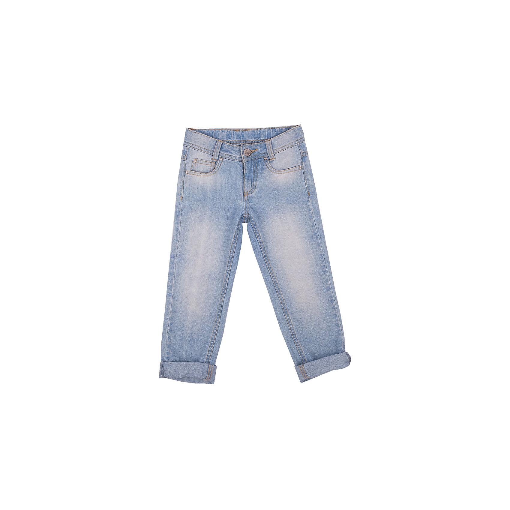 Джинсы для девочки Button BlueДжинсы<br>Классные голубые джинсы с потертостями и варкой — залог хорошего летнего настроения! Модный облегающий силуэт, удобная посадка на фигуре подарят девочке комфорт и свободу движений. Отличное качество и доступная цена прилагаются! Купить детские джинсы Button Blue, значит, купить классные летние джинсы недорого и быть в тренде!<br>Состав:<br>83% хлопок, 16% полиэстер, 1% эластан<br><br>Ширина мм: 215<br>Глубина мм: 88<br>Высота мм: 191<br>Вес г: 336<br>Цвет: голубой<br>Возраст от месяцев: 72<br>Возраст до месяцев: 84<br>Пол: Женский<br>Возраст: Детский<br>Размер: 122,98,152,116,140,104,158,134,146,110,128<br>SKU: 4510696