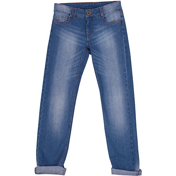 Джинсы для девочки Button BlueДжинсы<br>Классные голубые джинсы с потертостями и варкой — залог хорошего летнего настроения! Модный силуэт, удобная посадка на фигуре подарят девочке комфорт и свободу движений. Отличное качество и доступная цена прилагаются! Купить детские джинсы Button Blue, значит, купить классные летние джинсы недорого и быть в тренде!<br>Состав:<br>98,8% хлопок, 1,2% эластан<br><br>Ширина мм: 215<br>Глубина мм: 88<br>Высота мм: 191<br>Вес г: 336<br>Цвет: голубой<br>Возраст от месяцев: 24<br>Возраст до месяцев: 36<br>Пол: Женский<br>Возраст: Детский<br>Размер: 98,104,158,116,122,152,110,128,134,146,140<br>SKU: 4510708