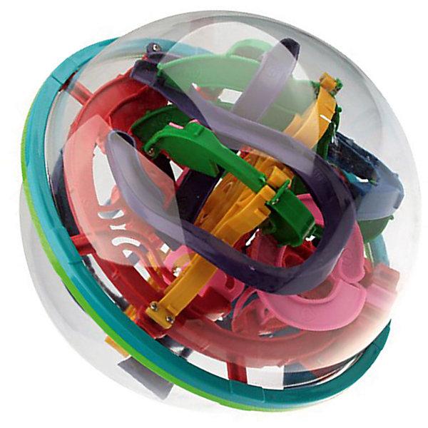 Головоломка Шар-лабиринт 138 шагов, диам. 19Головоломки - лабиринты<br>Это средняя по сложности, самая известная и популярная модель. Диаметр сферы составляет 19см, внутренний лабиринт насчитывает 138 шагов. Шаги и препятствия сконструированы таким образом, чтобы максимально заинтересовать и сделать игру увлекательной и интересной.                   Конструктивно игрушка состоит из прозрачной сферы-купола, внутри которой проложен сложнейший лабиринт дорожек и находится металлический шарик. Цель игры: поворачивая руками большой шар нужно провести маленький шарик через захватывающие хитросплетения дорожек, от первой контрольной точки до последней. В отличии от привычных плоских лабиринтов, в этой игрушке развивается по-настоящему пространственное мышление и видение, ведь шарик постоянно перемещается из одной плоскости в другую, рискуя на каждом этапе упасть, вынуждая начинать заново.       Лабиринт моментально захватывает воображение и втягивает в игру. Будьте уверены, если у вас в руках шар-лабиринт и поблизости есть другие люди, любой из них захочет попробовать и не отдаст игрушку пока не пройдет весь лабиринт! Яркие цвета, необычный вид и неизбежные.. поражения, конечно же сменяющиеся победами на всем протяжении игры от 1 до последней точки! Как жаль, что в мире мало игрушек, способных дарить хоты бы половину эмоций от игры в шар-лабиринт.               Средний уровень сложности подходит для всей семьи.           Больше 100 контрольных точек и 3 независимые точки входа (1, 26, 59).           Оптимальный размер внешней сферы, удобный для детей и взрослых: диаметр шара 19 см, чуть меньше футбольного мяча.           Общая протяженность трассы - более 7 метров.           Прочный и упругий прозрачный пластик, гарантирующий долговечность игрушки даже в руках озорного ребенка!           Возраст от 6 до 106 лет. Проверено в Лаборатории Игр - игрушка затягивает не на шутку!           Качественная упаковка полностью переведена на русский язык. Штрихкод, сертификат ТР ТС, лог