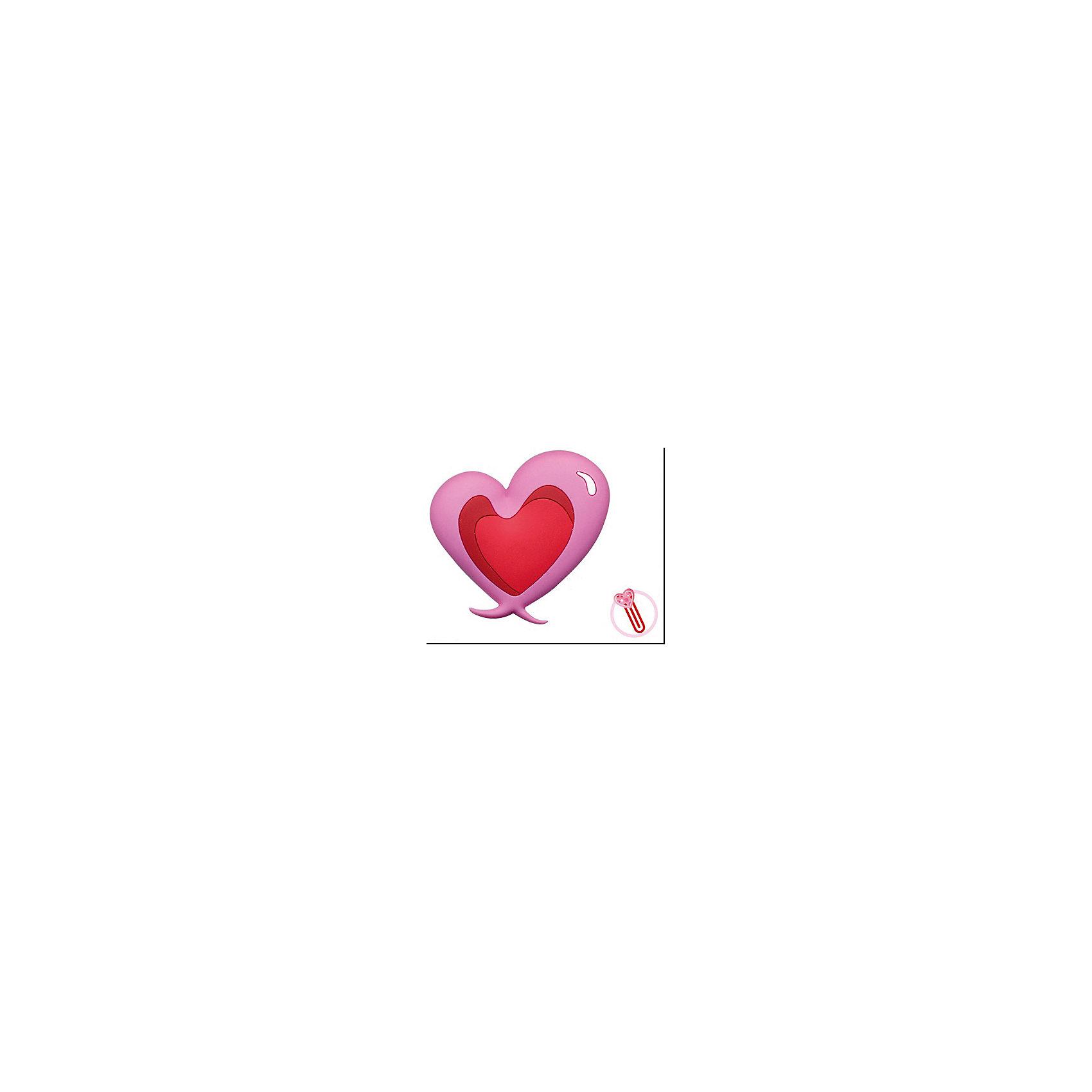 Закладка-сувенир для книг Двухцветное сердцеШкольные аксессуары<br>Закладка-сувенир для книг Двухцветное сердце станет приятным и романтичным аксессуаром на день всех влюбленных или еще одним поводом порадовать близкого человека. Сувенир выполнен в виде двухцветного красно-розового сердечка со стержнем-закладкой.<br><br>Дополнительная информация:<br><br>- Материал: ПВХ.<br>- Размер сувенира: 13 см.<br><br>Закладку-сувенир для книг Двухцветное сердце, Премьер-игрушка, можно купить в нашем интернет-магазине.<br><br>Ширина мм: 130<br>Глубина мм: 5<br>Высота мм: 20<br>Вес г: 6<br>Возраст от месяцев: 72<br>Возраст до месяцев: 2147483647<br>Пол: Унисекс<br>Возраст: Детский<br>SKU: 4512289