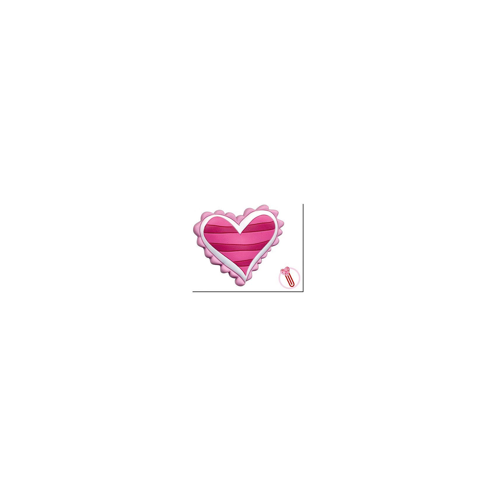 Закладка-сувенир для книг  Полосатое сердцеЗакладка-сувенир для книг Полосатое сердце станет приятным и романтичным аксессуаром на день всех влюбленных или еще одним поводом порадовать близкого человека. Сувенир выполнен в виде сердечка в розовую и красную полосочку. Оснащен скрепкой, которая служит закладкой для страниц. <br><br>Дополнительная информация:<br><br>- Материал: ПВХ.<br>- Размер сувенира: 13 см.<br><br>Закладку-сувенир для книг Полосатое сердце, Премьер-игрушка, можно купить в нашем интернет-магазине.<br><br>Ширина мм: 130<br>Глубина мм: 5<br>Высота мм: 20<br>Вес г: 6<br>Возраст от месяцев: 72<br>Возраст до месяцев: 2147483647<br>Пол: Унисекс<br>Возраст: Детский<br>SKU: 4512290