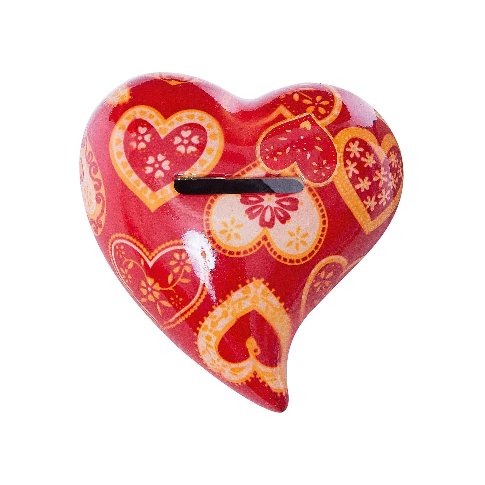 - Керамическая копилка Сердце что в виде сувенира из туапсе