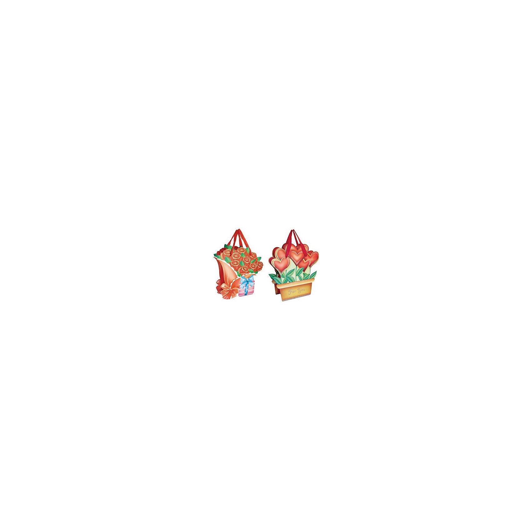 Подарочный пакет Цветы 15*17,8*8,5 см, в ассортиментеВсё для праздника<br>С подарочным пакетом Цветы Вы сможете красиво и оригинально оформить подарок близкому человеку, сделать его еще более приятным и запоминающимся. Фигурный пакет выполнен в необычном дизайне в форме букета цветов, имеются удобные атласные ручки.<br><br>Дополнительная информация:<br><br>- Материал: бумага, картон, текстиль. <br>- Размер пакета: 15 х 17,8 х 8,5 см.<br>- Вес: 67 гр.<br><br>Подарочный пакет Цветы можно купить в нашем интернет-магазине.<br><br>Ширина мм: 150<br>Глубина мм: 85<br>Высота мм: 178<br>Вес г: 67<br>Возраст от месяцев: 36<br>Возраст до месяцев: 2147483647<br>Пол: Женский<br>Возраст: Детский<br>SKU: 4512294