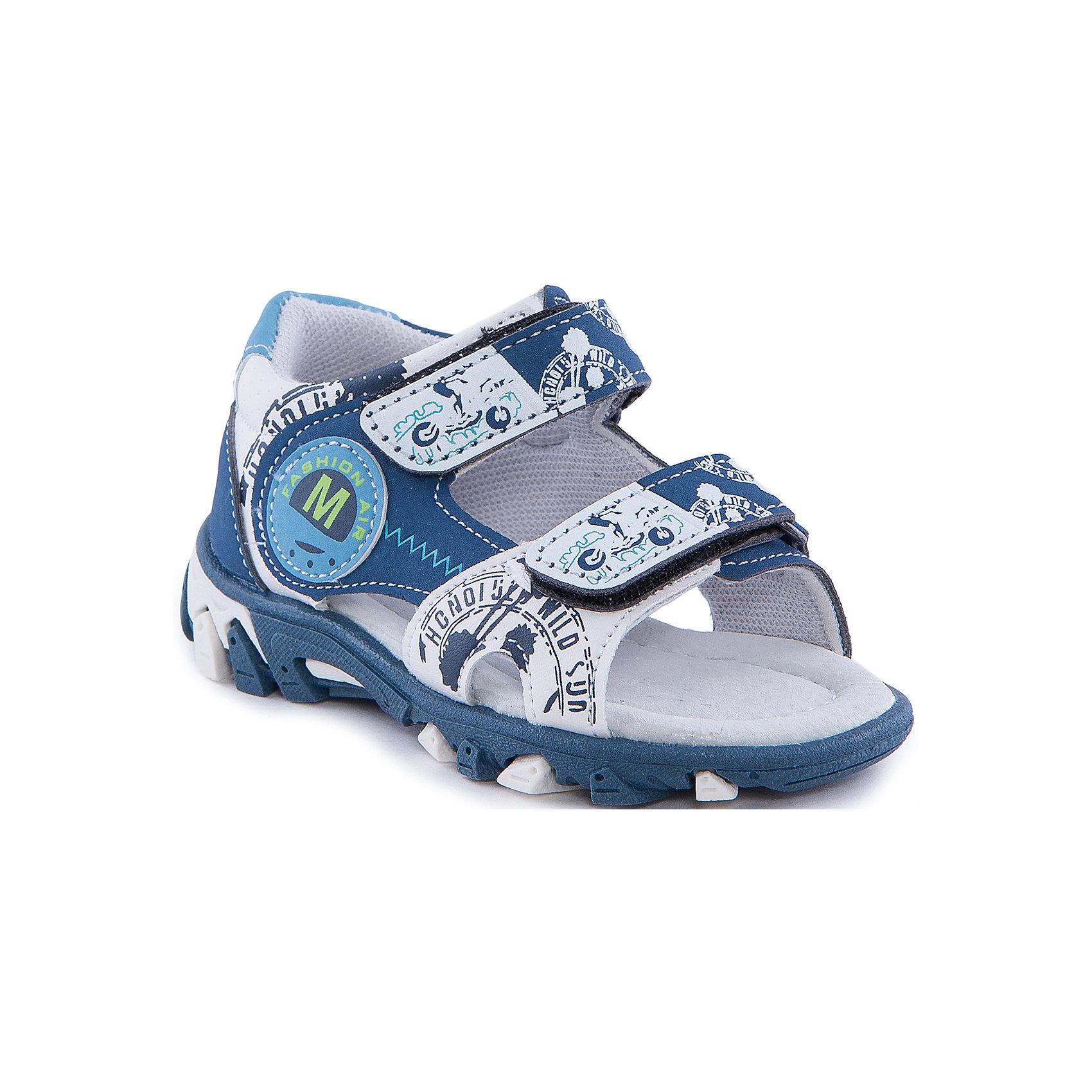 Сандалии для мальчика MURSUПляжная обувь<br>Сандалии для мальчика от известного бренда MURSU.<br>Состав: <br>Материал верха: искусственная кожа; Материал подкладки: хлопок; Материал подошвы: ТЭП; Материал стельки: натуральная кожа.<br><br>Ширина мм: 219<br>Глубина мм: 154<br>Высота мм: 121<br>Вес г: 343<br>Цвет: синий<br>Возраст от месяцев: 15<br>Возраст до месяцев: 18<br>Пол: Мужской<br>Возраст: Детский<br>Размер: 22,27,26,25,24,23<br>SKU: 4512932