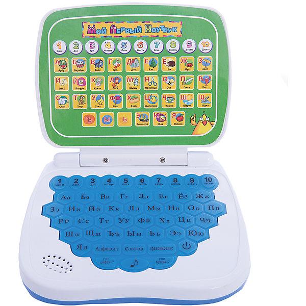Обучающий компьютер , русский, Kribly BooДетские гаджеты<br>Дети обожают гаджеты и новые технологии. Благодаря этому обучающему компьютеру, ваш малыш запомнит цифры и буквы, сможет развить память, внимание и, конечно, получит массу положительных эмоций. Компьютер имеет шесть режимов игры:<br>- Нажми на букву или цифру и узнай, как она называется;<br>- Нажми на букву и услышишь слово, которое с нее начинается;<br>- Нажми на кнопку и услышишь, из каких букв состоит это слово;<br>- Где цифра? В этом режиме игрушка будет проверять, хорошо ли ты помнишь цифры от 1 до 10. Чтобы ответить, нажми на кнопку с правильным ответом;<br>- Где буква? В этом режиме игрушка будет проверять, хорошо ли ты помнишь буквы. Чтобы ответить, нажми на кнопку с правильным ответом;<br>- Нажимай на кнопки и слушай веселые мелодии.<br><br>Дополнительная информация:<br><br>- Материал: пластик, металл.<br>- Размер: 16,5х19х4 см.<br>- Звуковые эффекты.<br>- Элемент питания: 3 АА батарейки (не входят в комплект).<br>- 6 режимов. <br>- Язык: русский.<br><br>Обучающий компьютер , русский, Kribly Boo, можно купить в нашем магазине.<br>Ширина мм: 190; Глубина мм: 165; Высота мм: 40; Вес г: 243; Возраст от месяцев: 36; Возраст до месяцев: 84; Пол: Унисекс; Возраст: Детский; SKU: 4515328;