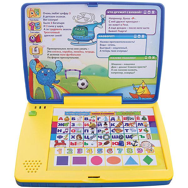 Компьютер для малышей, Kribly BooДетские гаджеты<br>Дети обожают гаджеты и новые технологии. Благодаря этому обучающему компьютеру, ваш малыш сможет развить память, внимание, научится сосредотачиваться на предложенных заданиях и, конечно, получит массу положительных эмоций. Компьютер имеет три режима игры:<br>- Буквы и цифры.<br>- Слова и стишки.<br>- Режим Экзамен в игре подготавливает ребенка к будущему школьному обучению, учит его сосредоточиваться на предложенных заданиях.<br><br>Дополнительная информация:<br><br>- Материал: пластик, металл.<br>- Размер: 24х34х5 см.<br>- Звуковые эффекты.<br>- Стихи озвучены профессиональными актерами. <br>- Элемент питания: 3 ААА батарейки (входят в комплект).<br>- 3 режима. <br>- Язык: русский.<br><br>Компьютер для малышей, Kribly Boo, можно купить в нашем магазине.<br><br>Ширина мм: 340<br>Глубина мм: 240<br>Высота мм: 48<br>Вес г: 583<br>Возраст от месяцев: 36<br>Возраст до месяцев: 84<br>Пол: Унисекс<br>Возраст: Детский<br>SKU: 4515329