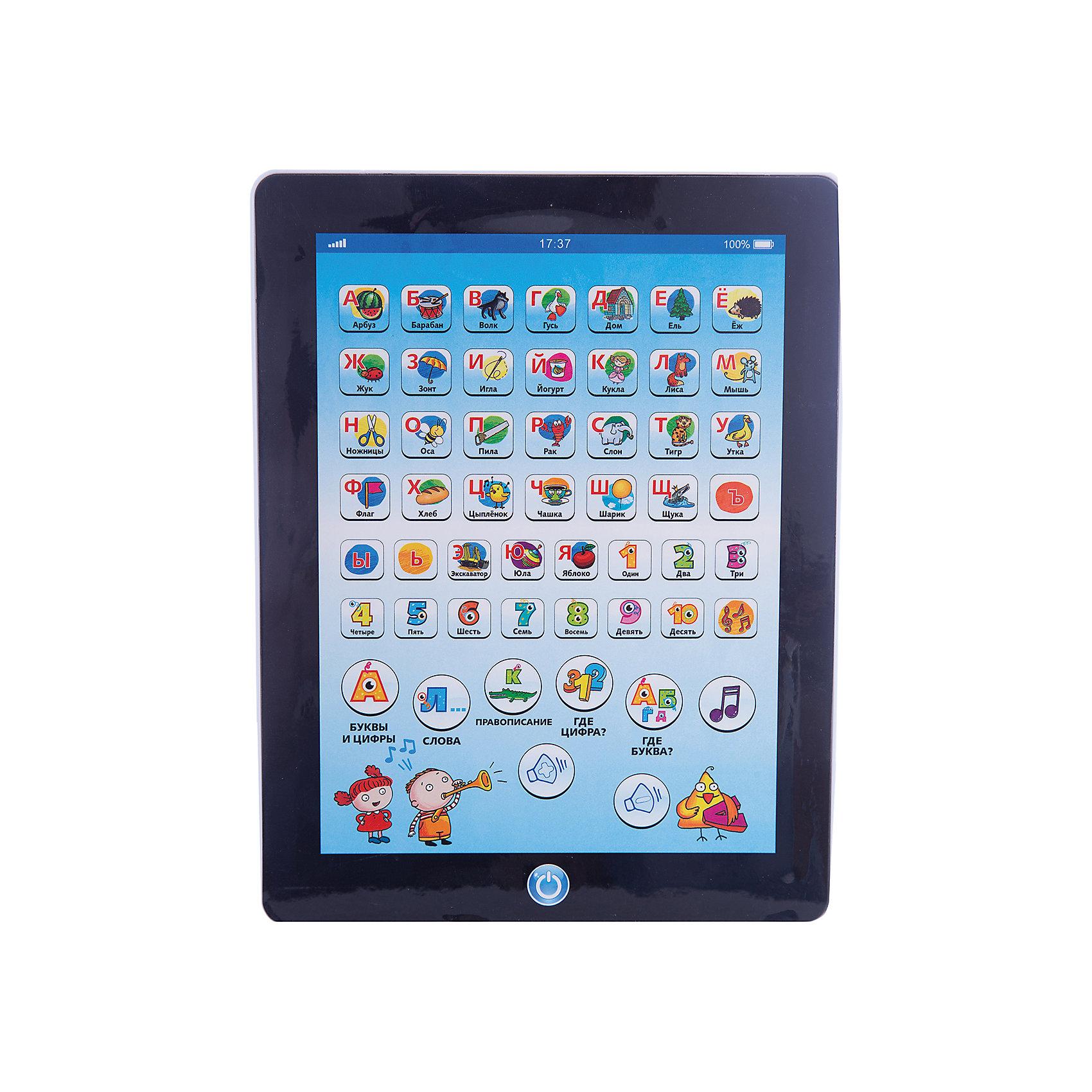 Обучающий планшет 11, Kribly BooДети обожают гаджеты и новые технологии.  С помощью этого простого и понятного планшета малыш сможет получить первоначальные навыки о цифрах и буквах, развить внимание и память, делая это в игровой, интересной форме. Планшет включает в себя 6 режимов игры: буквы и цифры, слова, правописание, проверка знания букв, проверка знания цифр, музыка.<br><br>Дополнительная информация:<br><br>- Материал: пластик, металл.<br>- Размер упаковки: 19х29х1,8 см.<br>- Звуковые эффекты.<br>- Регулировка звука. <br>- Элемент питания: 3 АА батарейки (не входят в комплект).<br>- 6 режимов. <br>- Язык: русский.<br><br>Обучающий планшет 11, Kribly Boo (Крибли Бу), можно купить в нашем магазине.<br><br>Ширина мм: 186<br>Глубина мм: 290<br>Высота мм: 18<br>Вес г: 271<br>Возраст от месяцев: 36<br>Возраст до месяцев: 84<br>Пол: Унисекс<br>Возраст: Детский<br>SKU: 4515330