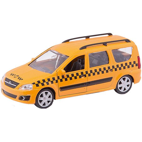 Машина LADA LARGUS, такси, 1:38Машинки<br>МашинаLADA LARGUS, такси,  - коллекционная модель, являющая копией настоящего автомобиля, сделанной в масштабе 1:38. Машинка станет прекрасным подарком всем юным автолюбителям и займет достойное место в любой коллекции автомобилей. Игрушка имеет инерционный механизм и открывающиеся двери, выполнена из высококачественных прочных безопасных материалов. <br><br>Дополнительная информация:<br><br>- Материал: пластик, металл.<br>- Масштаб: 1:38.<br>- Колеса подвижные.<br>- Двери открываются.<br>- Инерционный механизм. <br><br>Машину LADA LARGUS, такси, 1:38, можно купить в нашем магазине.<br><br>Ширина мм: 165<br>Глубина мм: 57<br>Высота мм: 72<br>Вес г: 159<br>Возраст от месяцев: 36<br>Возраст до месяцев: 84<br>Пол: Мужской<br>Возраст: Детский<br>SKU: 4515345