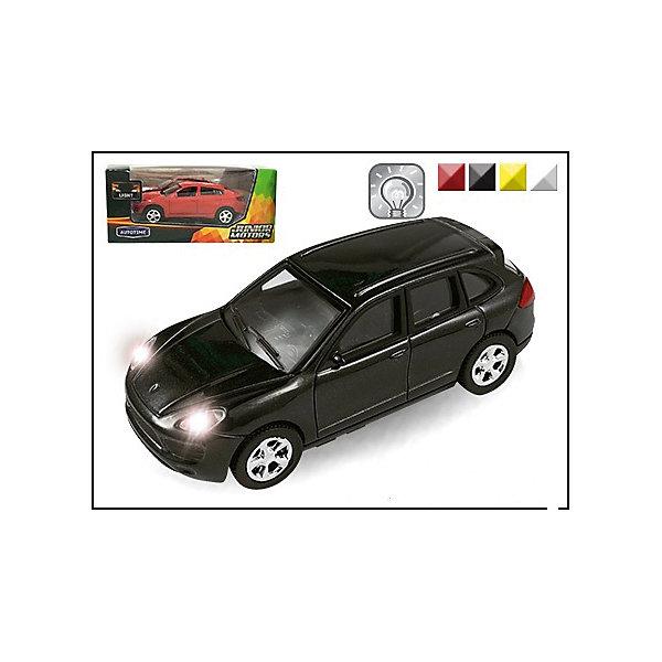 Машина GERMANY ELITE ALLROAD, со светом, 1:43Машинки<br>Машинка Germany Elite Allroad со светом фар 1:43, Autotime (Автотайм).<br><br>Характеристики:<br><br>• Масштаб 1:43<br>• Материал: металл, пластик<br>• Батарейки: 3xLR41 (входят в комплект)<br>• Упаковка: картонная коробка блистерного типа<br>• Размер упаковки: 16x6х7 см.<br>• ВНИМАНИЕ! Данный артикул представлен в различном цветовом исполнении. К сожалению, заранее выбрать определенный вариант невозможно. При заказе нескольких машинок возможно получение одинаковых<br><br>Машинка Germany Elite Allroad, выполненная в масштабе 1:43, приведет в восторг всех юных автолюбителей! Колеса машины подвижные, фары при движении светятся. Корпус машинки изготовлен из металла, а все дополнительные элементы из пластика. Товар соответствует требованиям безопасности и стандартам качества продукции.<br><br>Машинку Germany Elite Allroad со светом фар 1:43, Autotime (Автотайм) можно купить в нашем интернет-магазине.<br>Ширина мм: 150; Глубина мм: 57; Высота мм: 65; Вес г: 139; Возраст от месяцев: 36; Возраст до месяцев: 84; Пол: Мужской; Возраст: Детский; SKU: 4515352;
