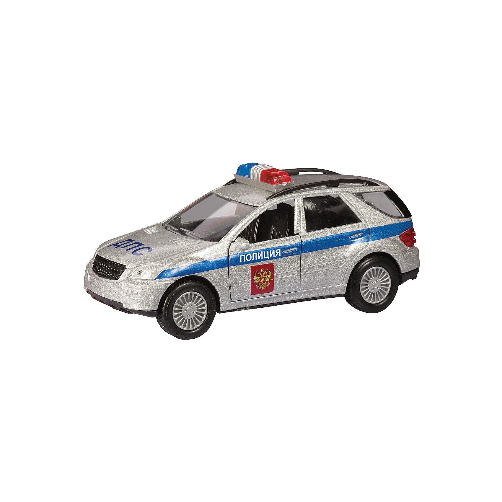 Машина GERMANY ALLROAD, милиция, 1:36Машина GERMANY ALLROAD, милиция,  - коллекционная модель, являющая копией настоящего автомобиля, сделанной в масштабе 1:36. Машинка станет прекрасным подарком всем юным автолюбителям и займет достойное место в любой коллекции автомобилей. Игрушка имеет инерционный механизм и открывающиеся двери, выполнена из высококачественных прочных безопасных материалов. <br><br>Дополнительная информация:<br><br>- Материал: пластик, металл.<br>- Масштаб: 1:36.<br>- Колеса подвижные.<br>- Двери открываются.<br>- Инерционный механизм. <br><br>Машину GERMANY ALLROAD, милиция, 1:36, можно купить в нашем магазине.<br><br>Ширина мм: 137<br>Глубина мм: 57<br>Высота мм: 70<br>Вес г: 146<br>Возраст от месяцев: 36<br>Возраст до месяцев: 84<br>Пол: Мужской<br>Возраст: Детский<br>SKU: 4515355