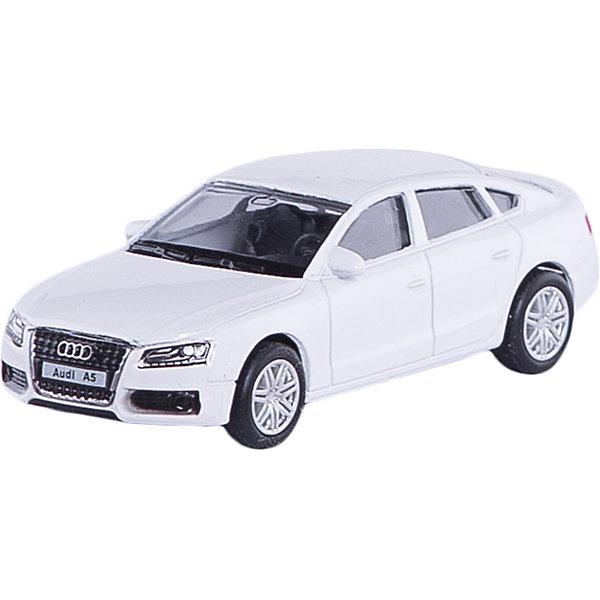 Машина AUDI A5 SPORTBACK 3Машинки<br>Машинка Audi A5 Sportback 3, Autotime (Автотайм).<br><br>Характеристики:<br><br>• Масштаб 1:60<br>• Размер машинки: 7x3 см.<br>• Материал: металл, пластик<br>• Цвет: синий<br>• Упаковка: картонная коробка блистерного типа<br>• Размер упаковки: 10x4x4 см.<br><br>Машинка Audi A5 Sportback 3 от Autotime (Автотайм) является уменьшенной копией настоящего автомобиля. Модель имеет высокую степень детализации. Корпус машинки изготовлен из металла, а днище, внутренние детали и дополнительные элементы из пластика. Автомобиль качественно окрашен. Салон автомобиля тщательно проработан. Резиновые колеса свободно вращаются. Машинка Audi A5 Sportback станет хорошим подарком и ребенку, и коллекционеру моделей автомобилей.<br><br>Машинку Audi A5 Sportback 3, Autotime (Автотайм) можно купить в нашем интернет-магазине.<br>Ширина мм: 90; Глубина мм: 42; Высота мм: 40; Вес г: 49; Возраст от месяцев: 36; Возраст до месяцев: 84; Пол: Мужской; Возраст: Детский; SKU: 4515356;