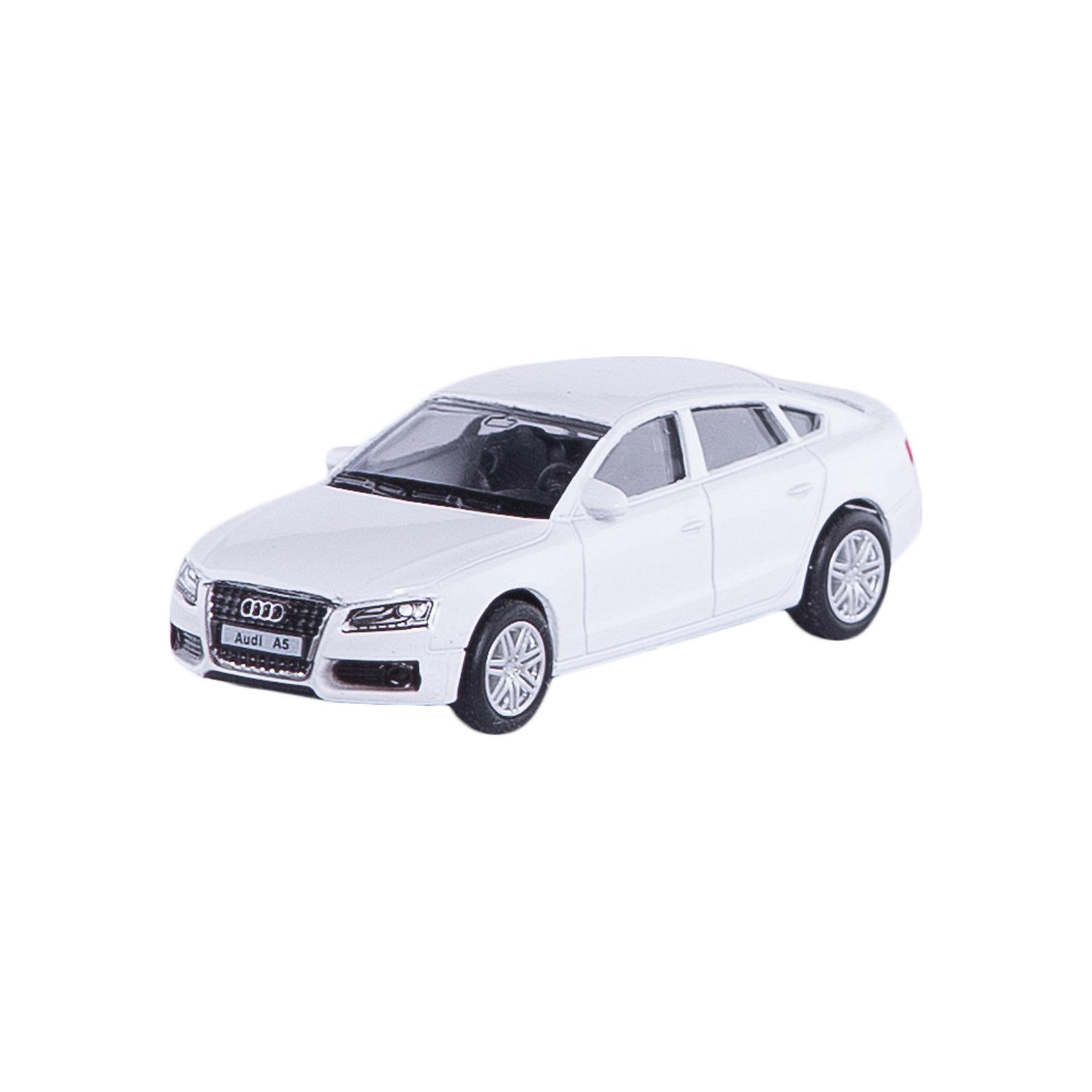 Машина AUDI A5 SPORTBACK 3Машинки<br>Машинка Audi A5 Sportback 3, Autotime (Автотайм).<br><br>Характеристики:<br><br>• Масштаб 1:60<br>• Размер машинки: 7x3 см.<br>• Материал: металл, пластик<br>• Цвет: синий<br>• Упаковка: картонная коробка блистерного типа<br>• Размер упаковки: 10x4x4 см.<br><br>Машинка Audi A5 Sportback 3 от Autotime (Автотайм) является уменьшенной копией настоящего автомобиля. Модель имеет высокую степень детализации. Корпус машинки изготовлен из металла, а днище, внутренние детали и дополнительные элементы из пластика. Автомобиль качественно окрашен. Салон автомобиля тщательно проработан. Резиновые колеса свободно вращаются. Машинка Audi A5 Sportback станет хорошим подарком и ребенку, и коллекционеру моделей автомобилей.<br><br>Машинку Audi A5 Sportback 3, Autotime (Автотайм) можно купить в нашем интернет-магазине.<br><br>Ширина мм: 90<br>Глубина мм: 42<br>Высота мм: 40<br>Вес г: 49<br>Возраст от месяцев: 36<br>Возраст до месяцев: 84<br>Пол: Мужской<br>Возраст: Детский<br>SKU: 4515356