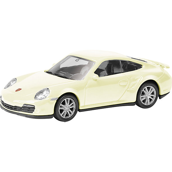 Машина PORSCHE 911 TURBO 3Машинки<br>Машинка Porsche 911 Turbo (997) 3, Autotime (Автотайм).<br><br>Характеристики:<br><br>• Масштаб 1:60<br>• Материал: металл, пластик<br>• Цвет: желтый<br>• Упаковка: картонная коробка блистерного типа<br>• Размер упаковки: 9x4x4 см.<br><br>Машинка Porsche 911 Turbo (997) 3 от Autotime (Автотайм) является уменьшенной копией спорткара марки Porsche. выпускавшегося c 2004 года по 2011 год. Модель имеет высокую степень детализации. Корпус машинки изготовлен из металла, а все дополнительные элементы из пластика. Автомобиль качественно окрашен. Салон автомобиля тщательно проработан. Резиновые колеса свободно вращаются. Машинка Porsche 911 Turbo (997) станет хорошим подарком и ребенку, и коллекционеру моделей автомобилей.<br><br>Машинку Porsche 911 Turbo (997) 3, Autotime (Автотайм) можно купить в нашем интернет-магазине.<br><br>Ширина мм: 90<br>Глубина мм: 42<br>Высота мм: 40<br>Вес г: 43<br>Возраст от месяцев: 36<br>Возраст до месяцев: 84<br>Пол: Мужской<br>Возраст: Детский<br>SKU: 4515358