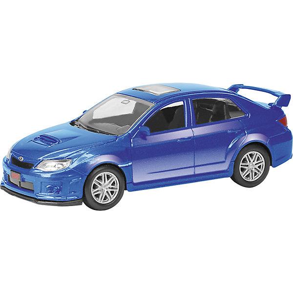 Машина SUBARU WRX STI 3Машинки<br>Машинка Subaru WRX STI 3, Autotime (Автотайм).<br><br>Характеристики:<br><br>• Масштаб 1:60<br>• Длина машинки: 7,6 см.<br>• Материал: металл, пластик<br>• Цвет: синий<br>• Упаковка: картонная коробка блистерного типа<br>• Размер упаковки: 10x4x4 см.<br><br>Машинка Subaru WRX STI 3 от Autotime (Автотайм) является уменьшенной копией настоящего автомобиля. Модель имеет высокую степень детализации. Корпус машинки изготовлен из металла, а все дополнительные элементы из пластика. Автомобиль качественно окрашен. Салон автомобиля тщательно проработан. Резиновые колеса свободно вращаются. Машинка Subaru WRX STI станет хорошим подарком и ребенку, и коллекционеру моделей автомобилей.<br><br>Машинку Subaru WRX STI 3, Autotime (Автотайм) можно купить в нашем интернет-магазине.<br><br>Ширина мм: 90<br>Глубина мм: 42<br>Высота мм: 40<br>Вес г: 45<br>Возраст от месяцев: 36<br>Возраст до месяцев: 84<br>Пол: Мужской<br>Возраст: Детский<br>SKU: 4515359