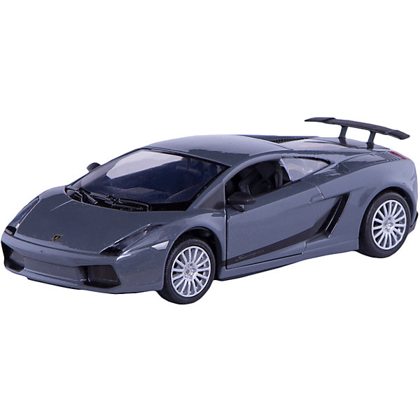 Машина LAMBORGHINI GALLARDO SUPERLEGGERA, 1:24, в ассортиментеМашинки<br>Любой мальчишка придет в восторг от этой яркой гоночной машины! Стильный дизайн, в точности повторяющий дизайн настоящего гоночного автомобиля, точная детализация, подвижные колеса - не оставят равнодушным ни одного юного гонщика! <br><br>Дополнительная информация:<br><br>- Материал: пластик, металл.<br>- Масштаб: 1:24.<br>- Колеса подвижные.<br><br>Машину LAMBORGHINI GALLARDO SUPERLEGGERA, 1:24, можно купить в нашем магазине.<br>Ширина мм: 245; Глубина мм: 112; Высота мм: 102; Вес г: 450; Возраст от месяцев: 36; Возраст до месяцев: 84; Пол: Мужской; Возраст: Детский; SKU: 4515363;